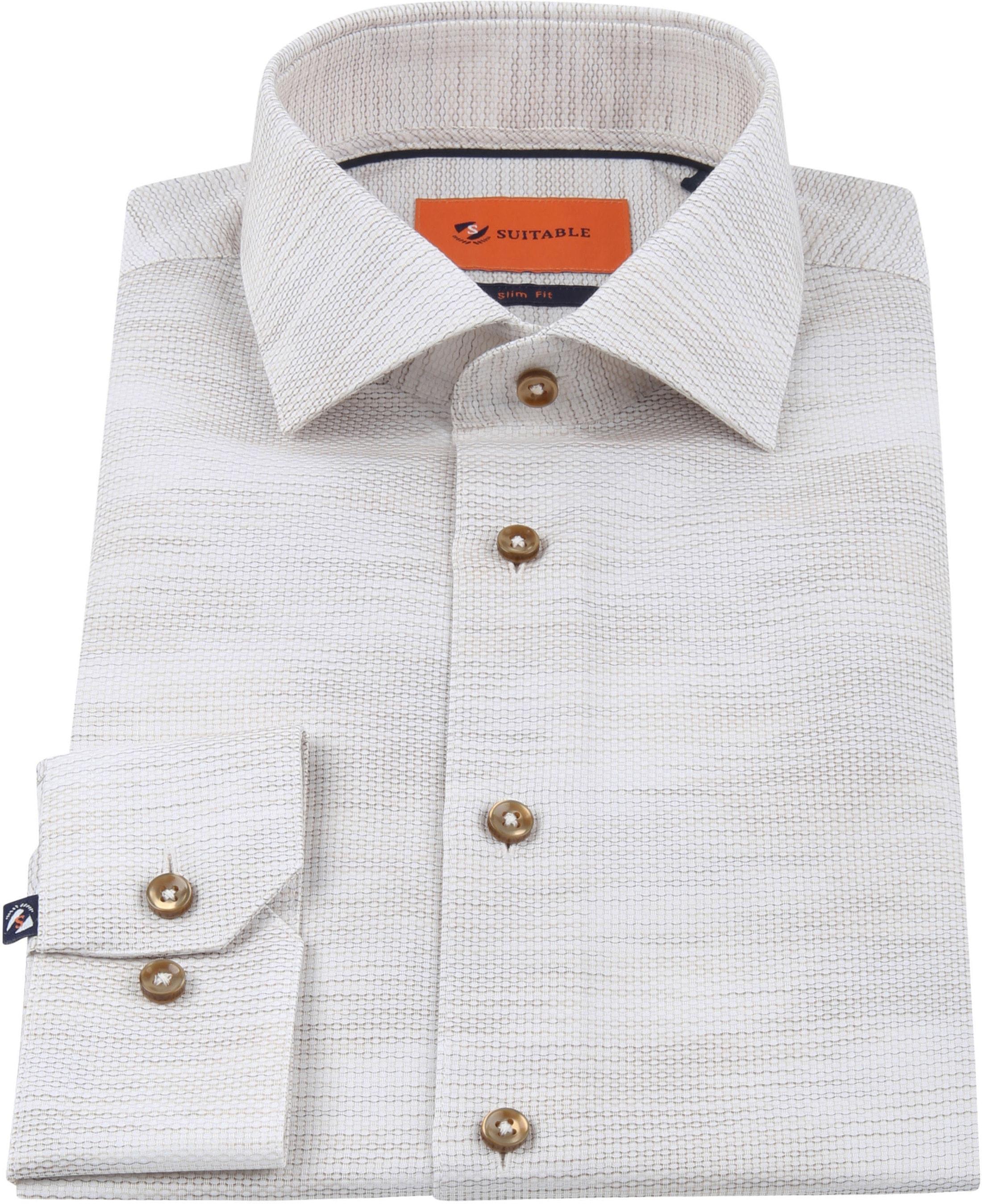 Suitable Overhemd WS Beige