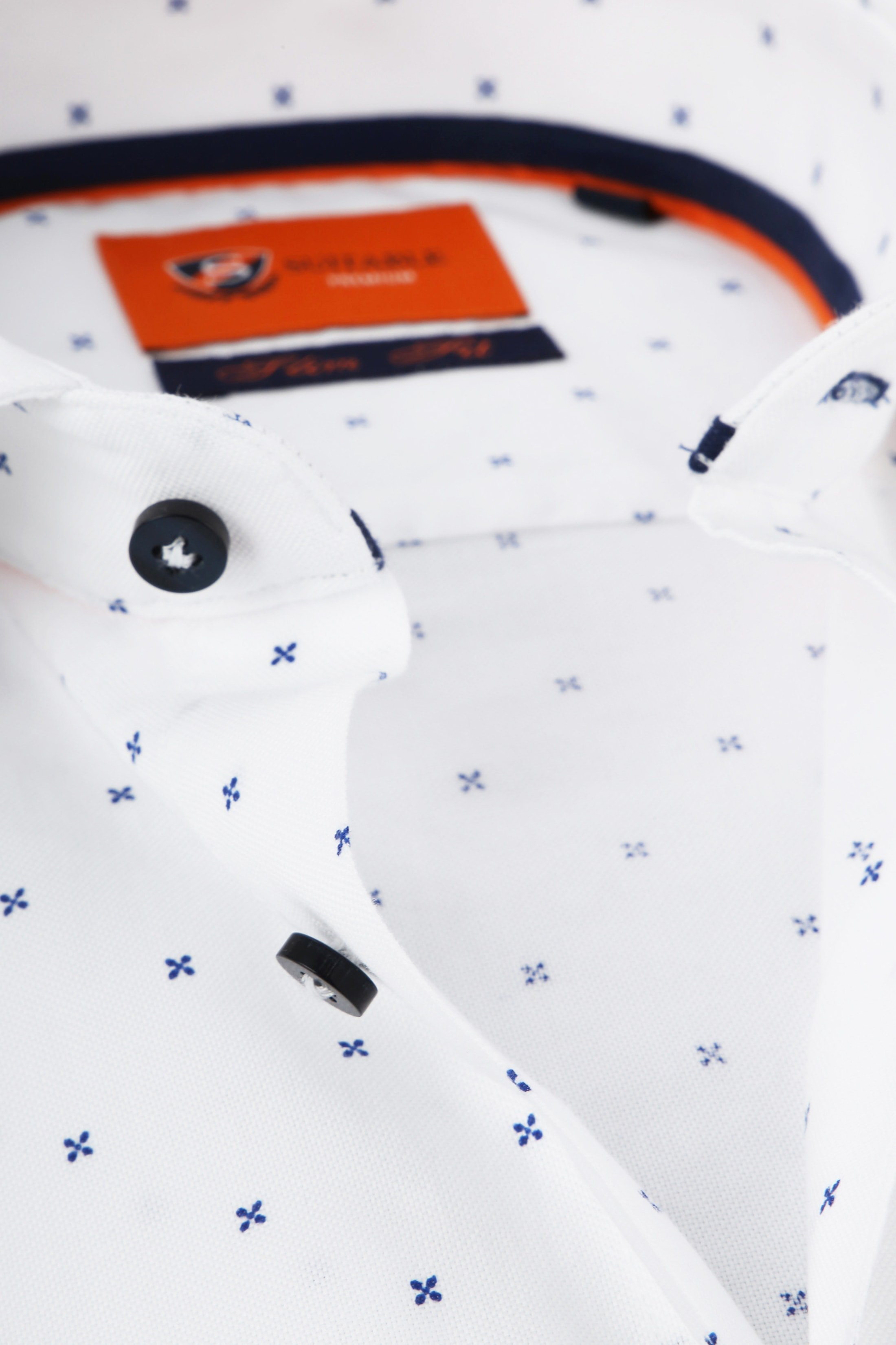 Suitable Overhemd WS Kruis Wit foto 1