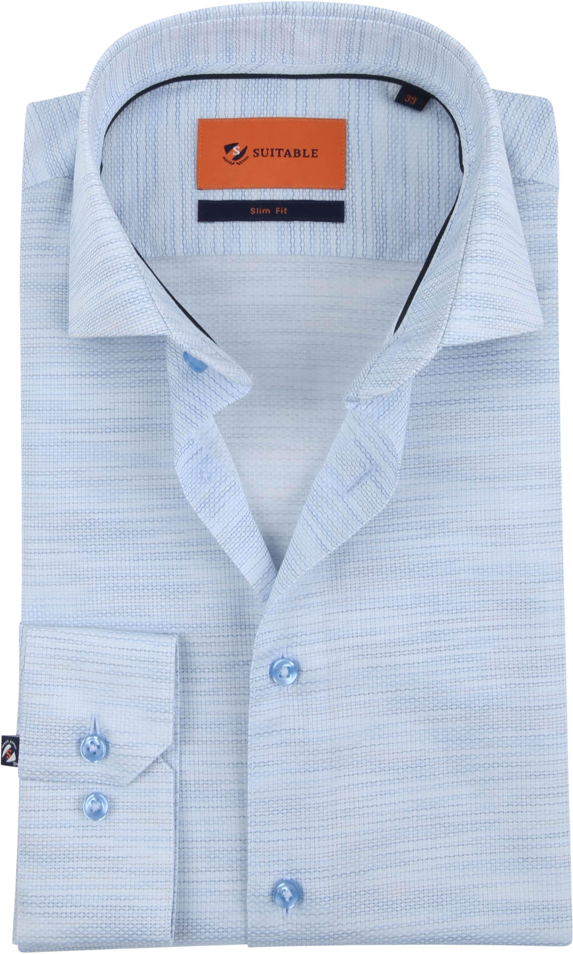 Suitable Overhemd WS Lichtblauw