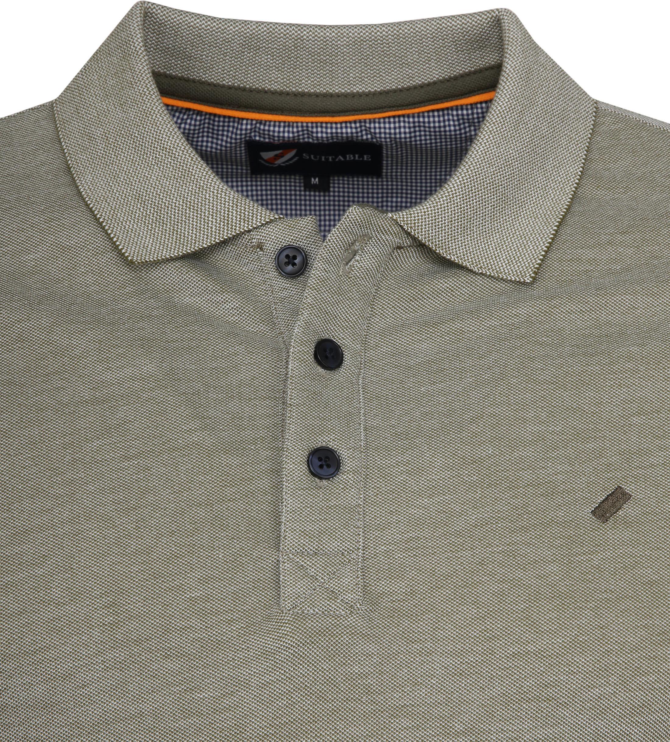 Suitable Oxford Poloshirt Green photo 1