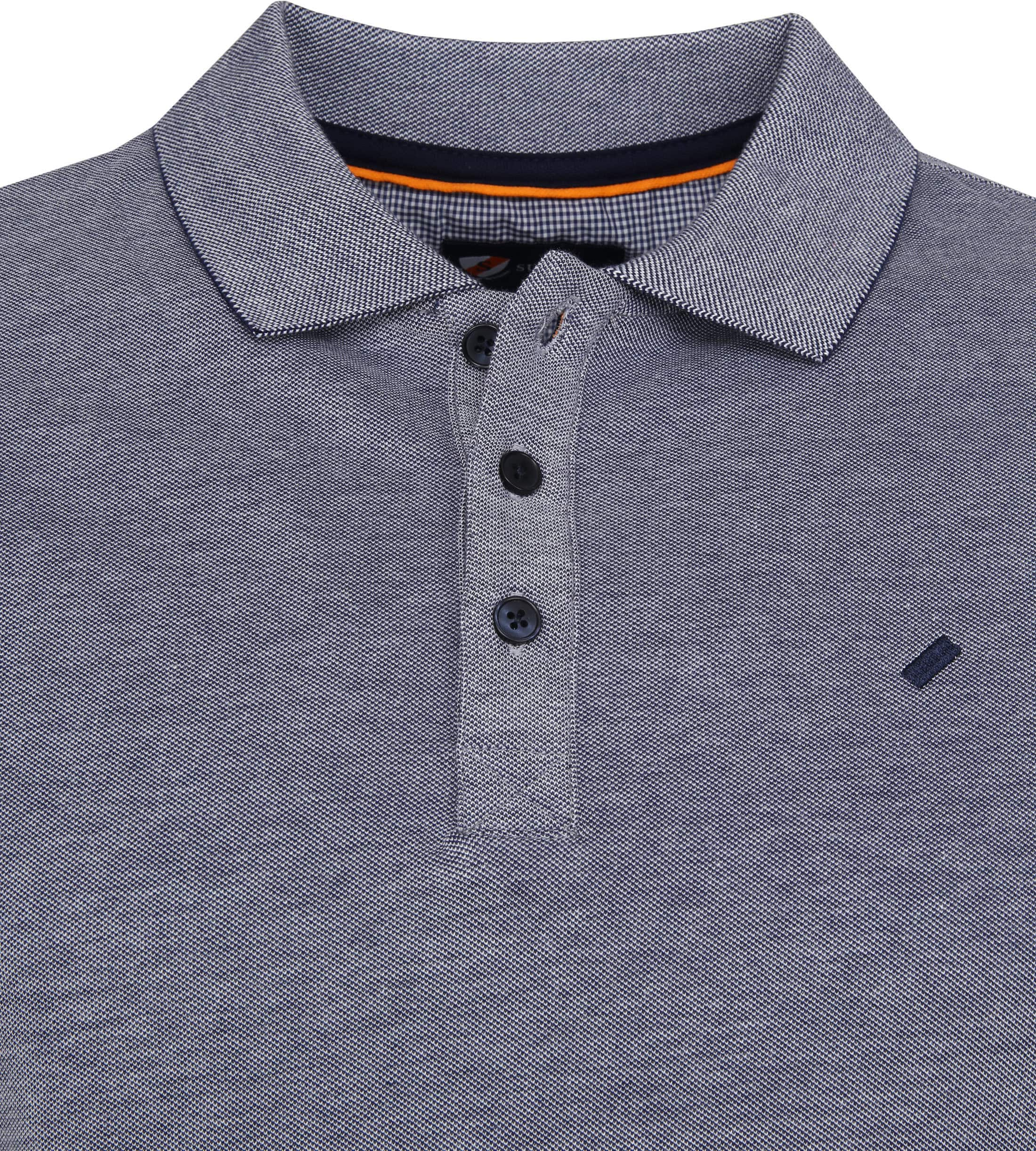 Suitable Oxford Poloshirt Navy foto 1