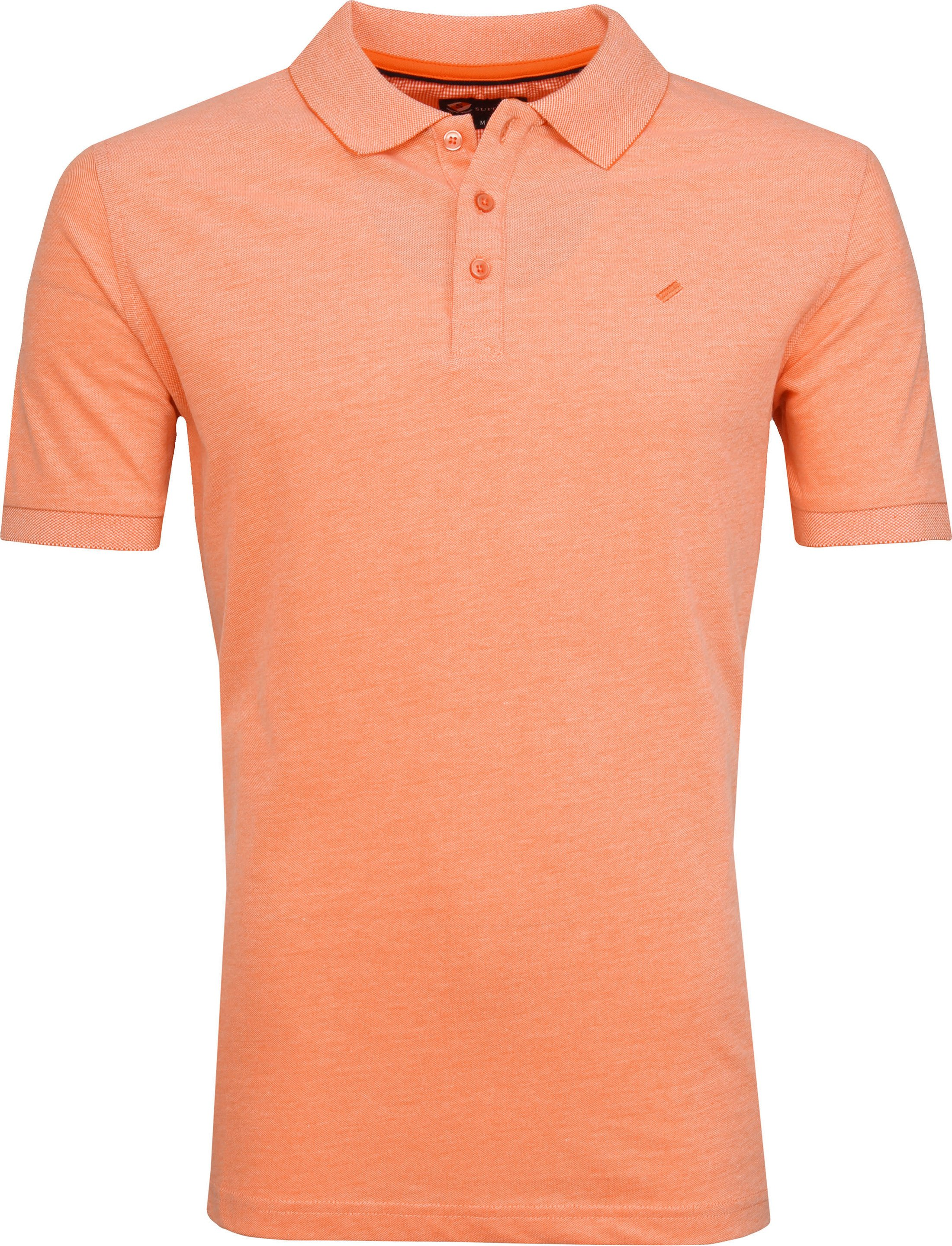 Suitable Oxford Poloshirt Orange foto 0