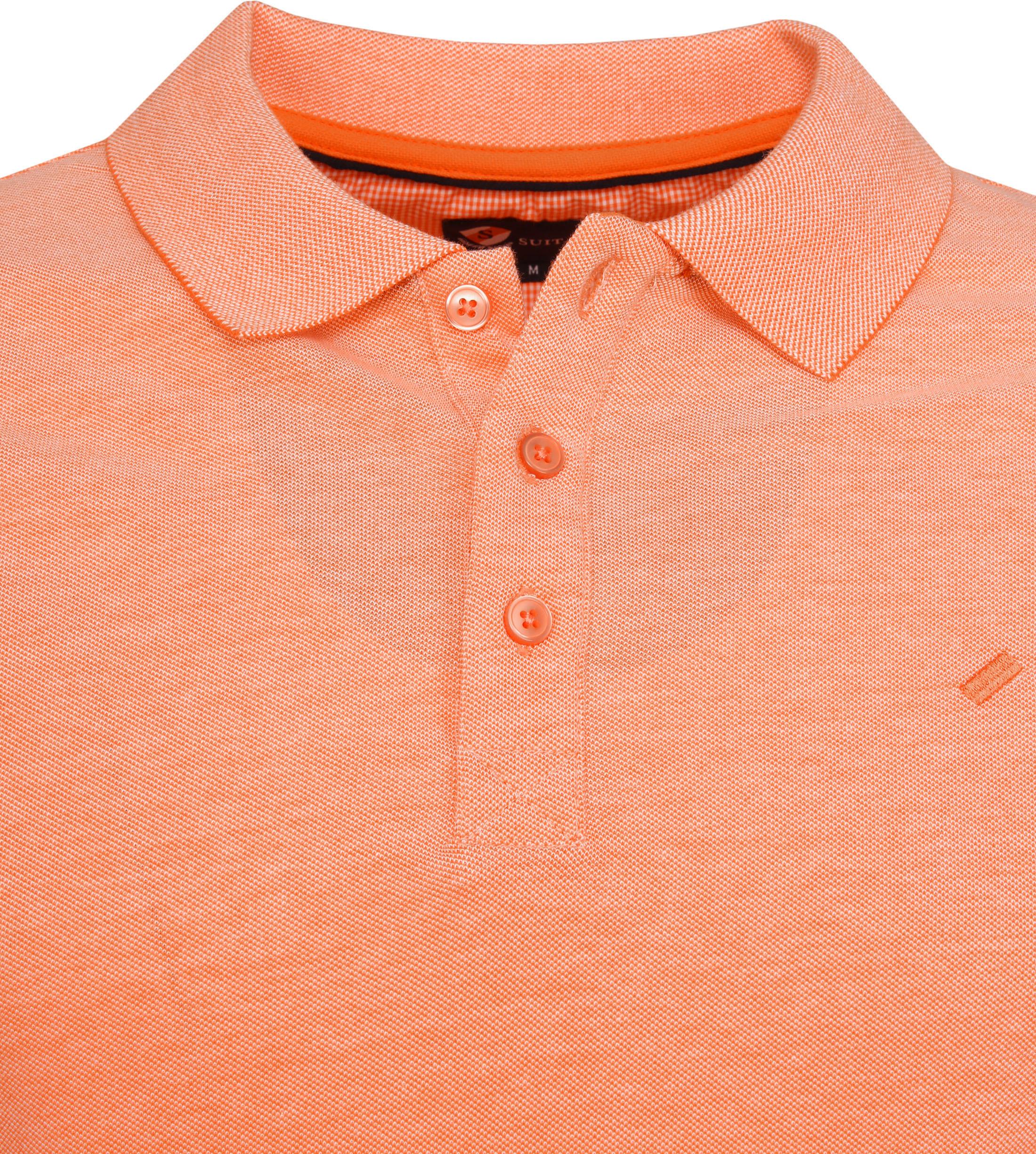 Suitable Oxford Poloshirt Orange foto 1
