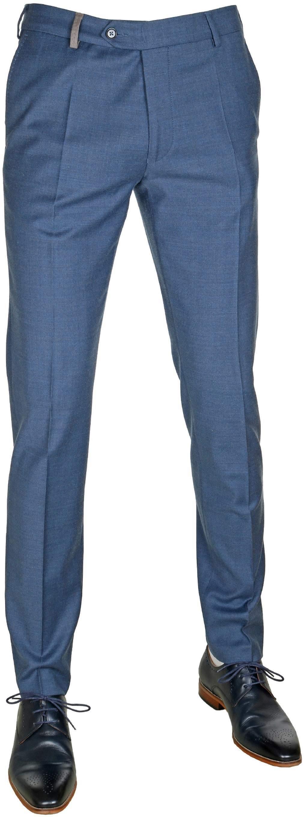 Suitable Pantalon Blauw foto 0