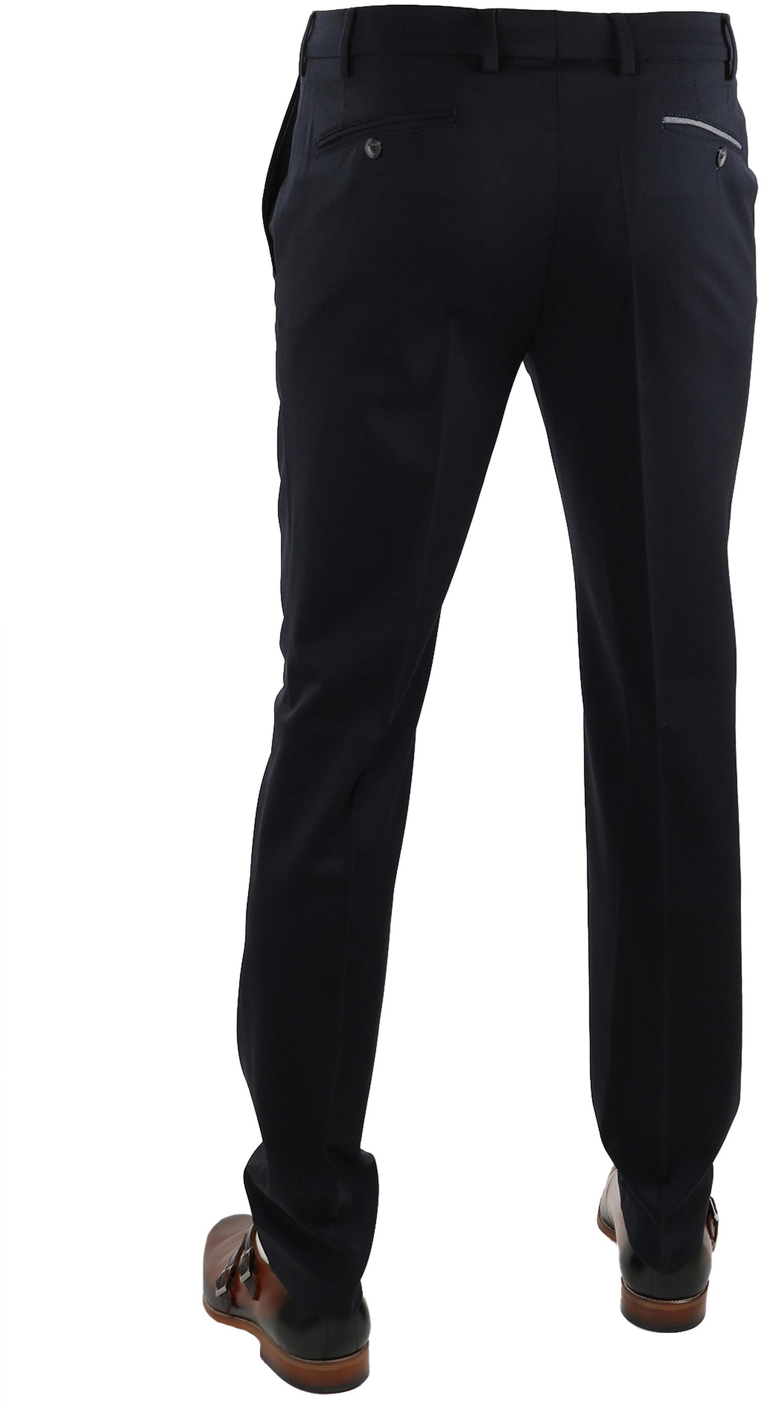 Suitable Pantalon Milano Donkerblauw foto 1