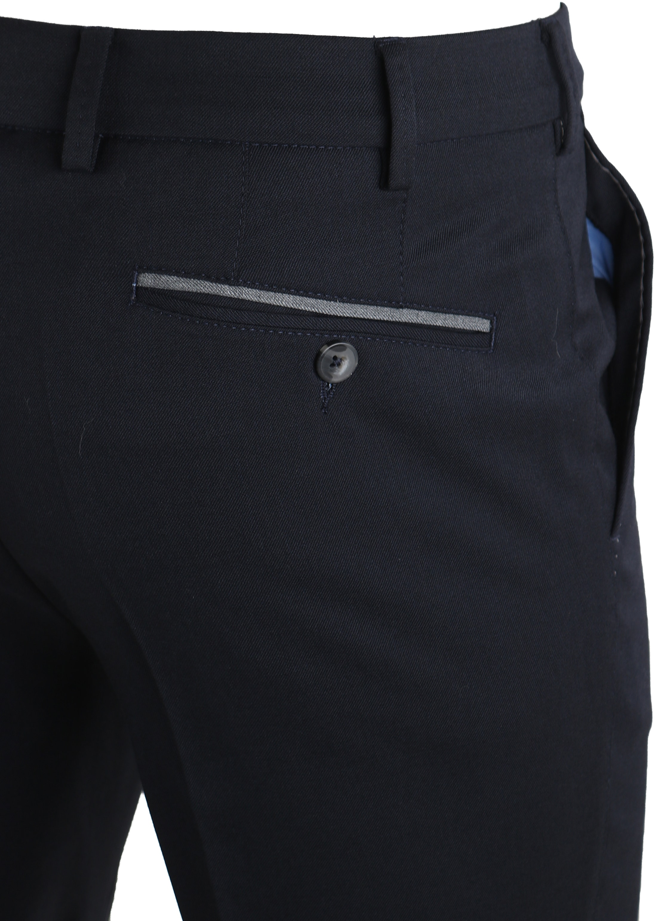 Suitable Pantalon Milano Donkerblauw foto 3
