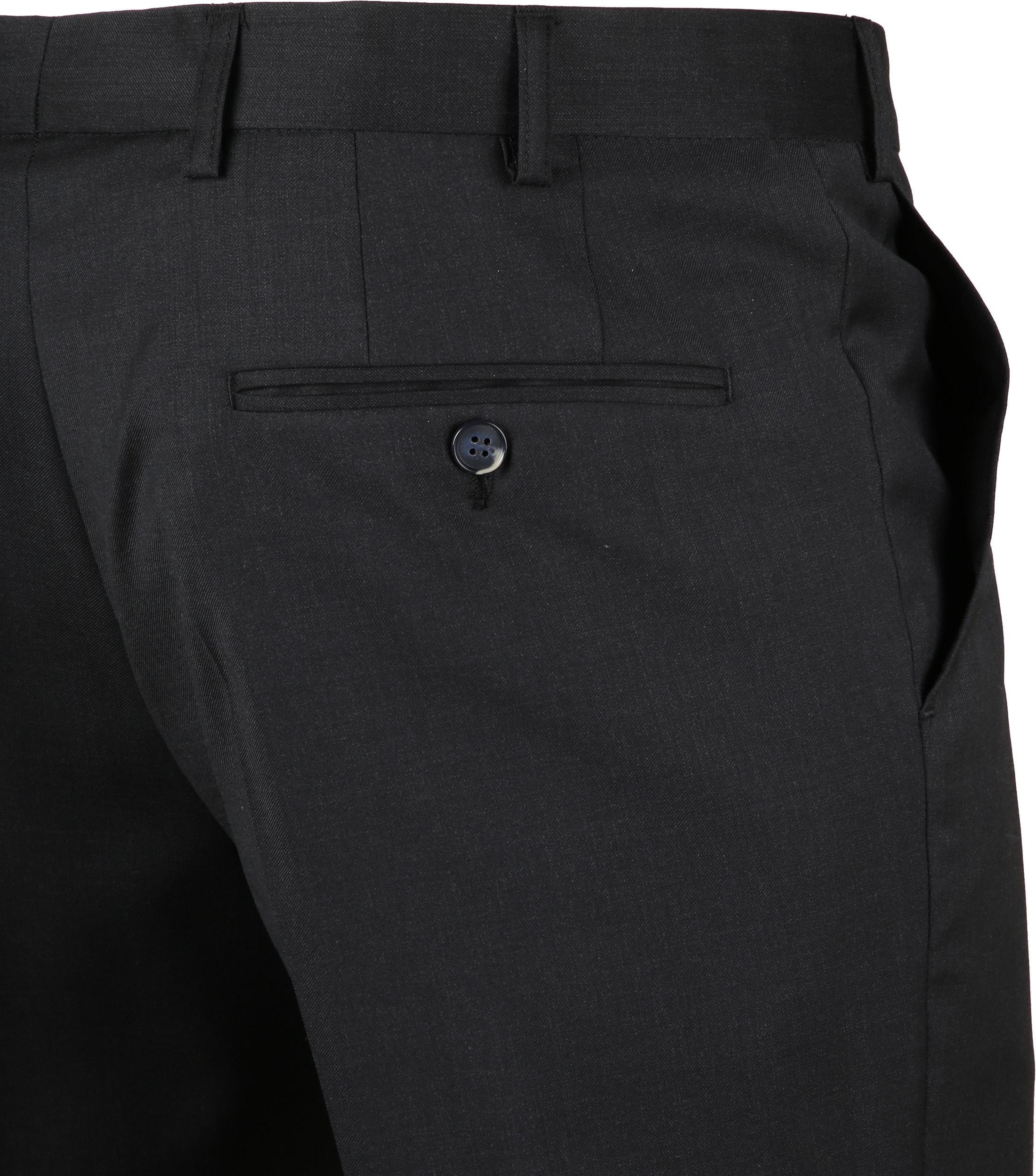 Suitable Pantalon Piga Antraciet