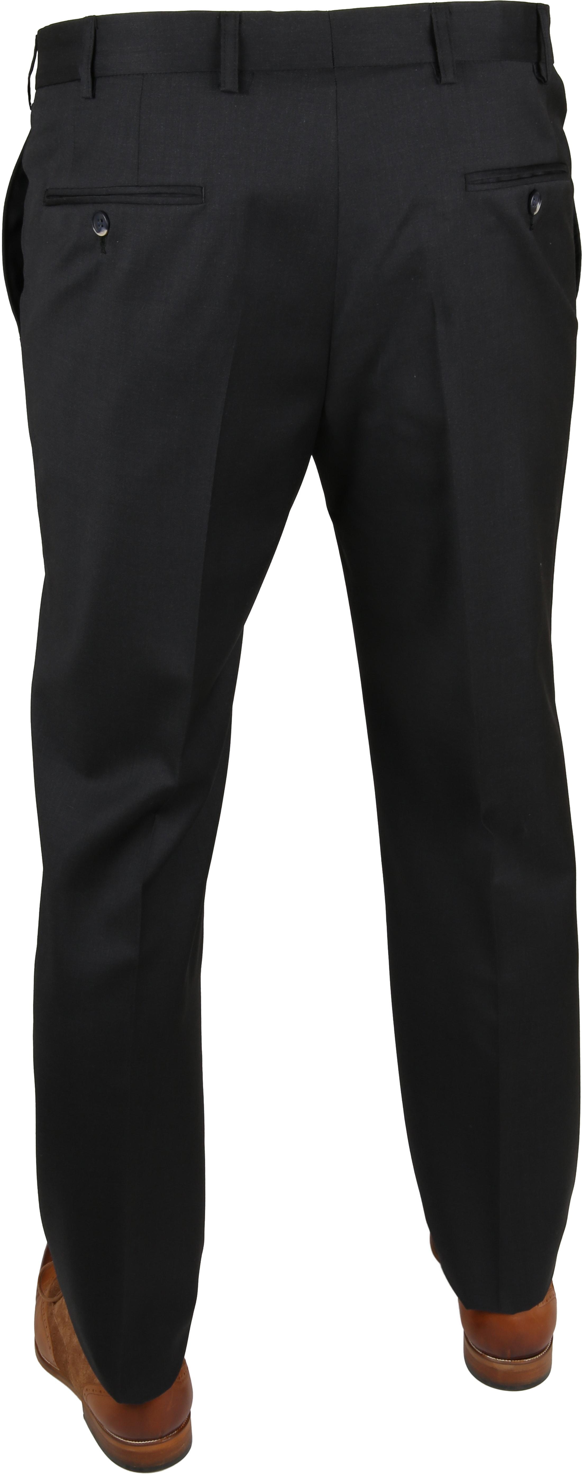 Suitable Pantalon Piga Antraciet foto 3