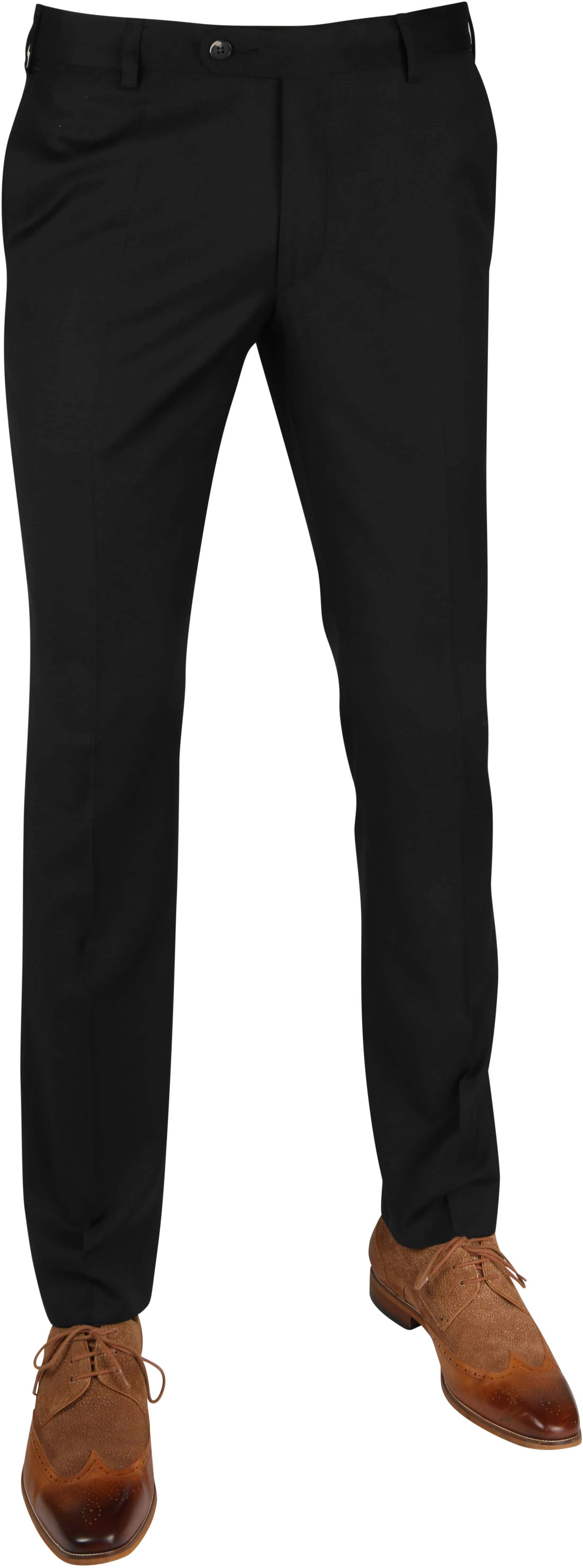 Suitable Pantalon Piga Black photo 0