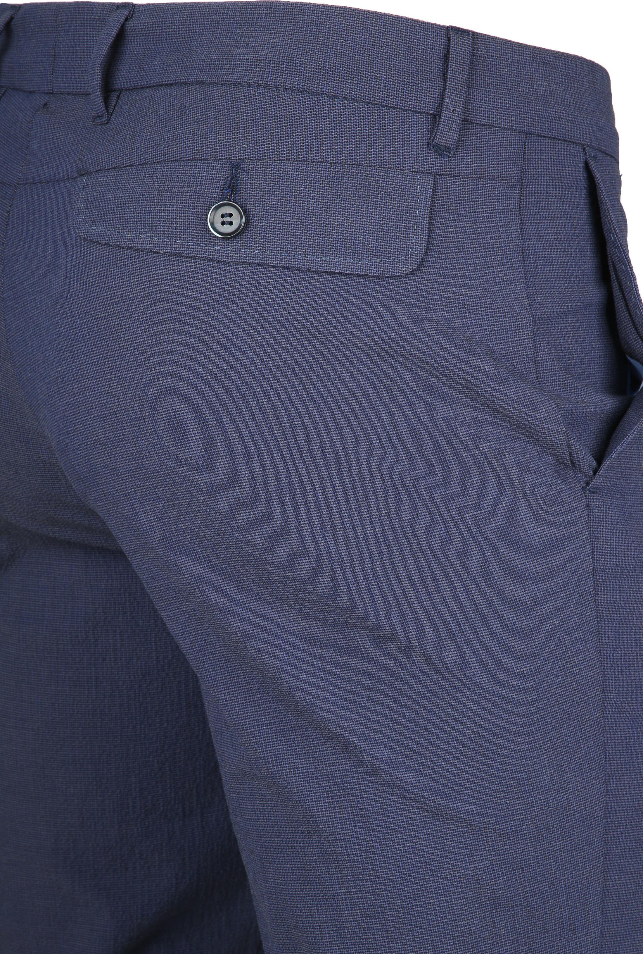 Suitable Pantalon Pisa Dessin Blauw foto 1