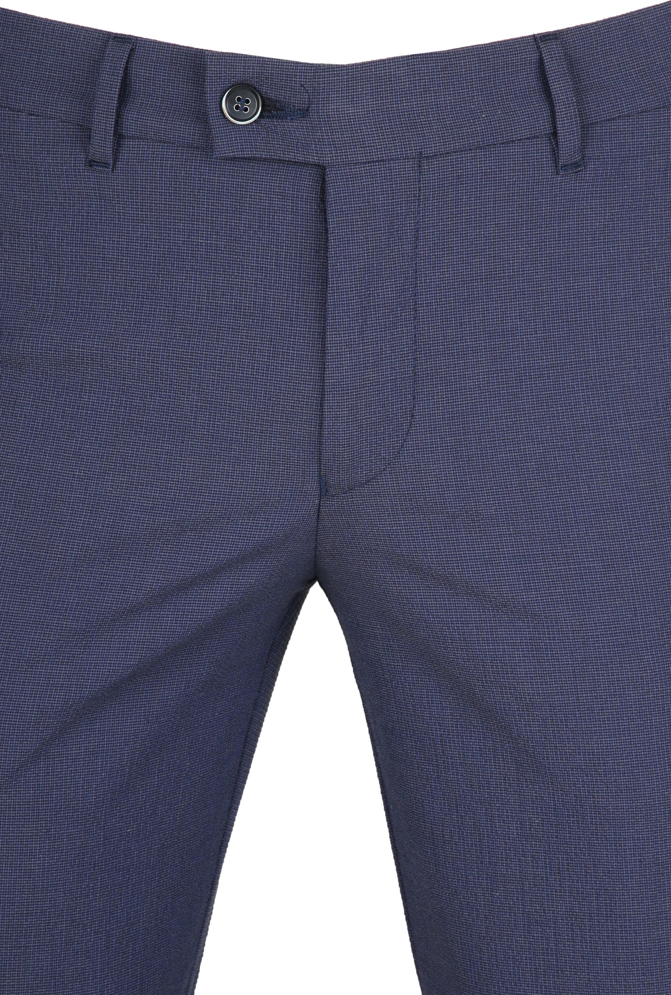 Suitable Pantalon Pisa Dessin Blauw foto 2