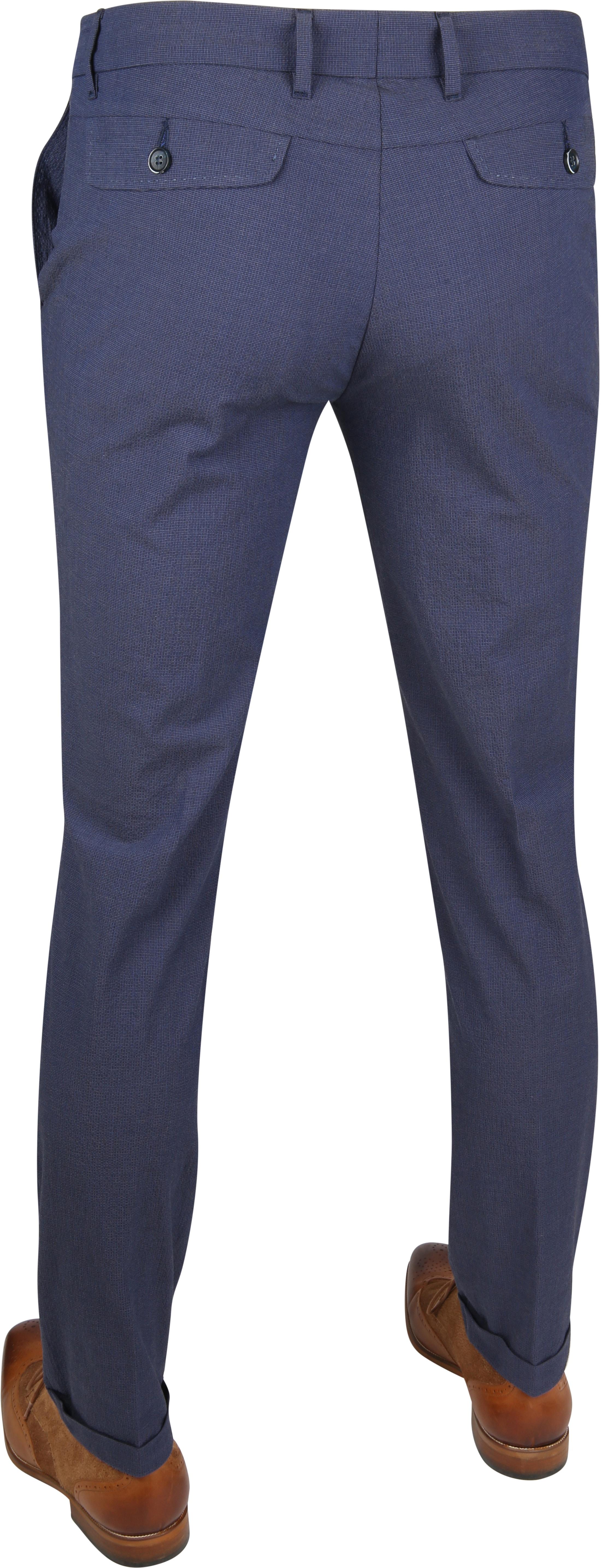 Suitable Pantalon Pisa Dessin Blauw foto 3
