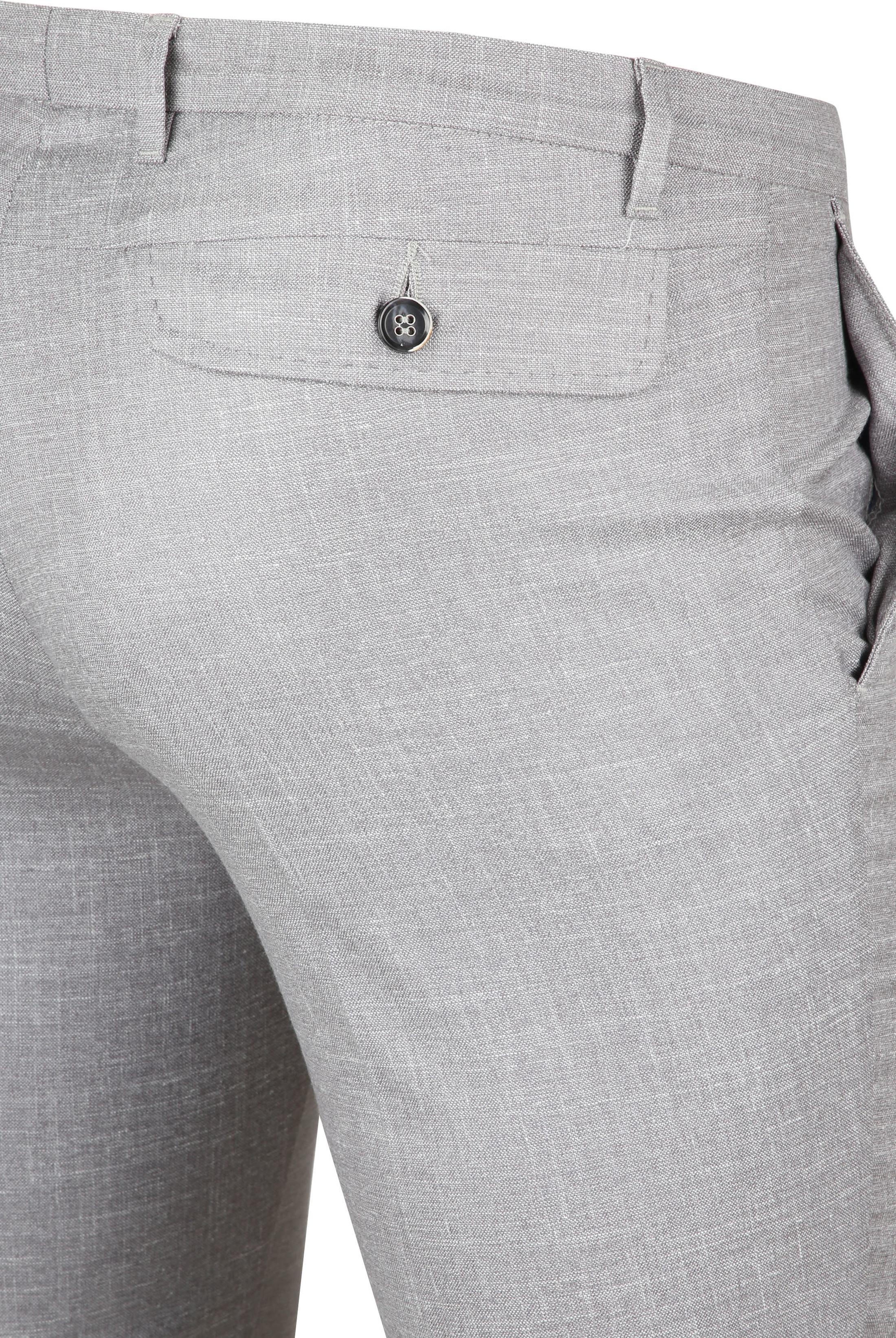 Suitable Pantalon Pisa Melange Grau foto 1