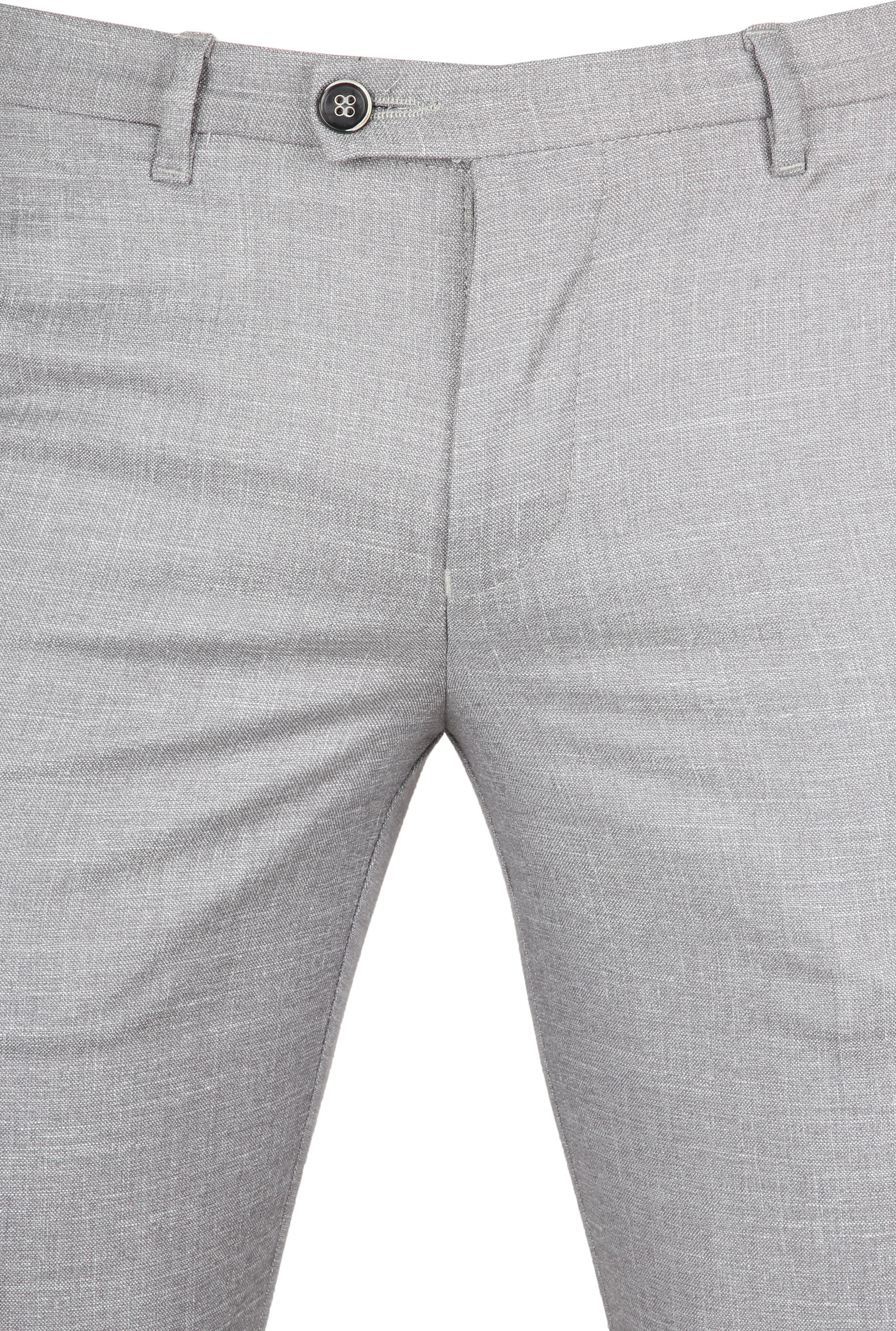Suitable Pantalon Pisa Melange Grey foto 2