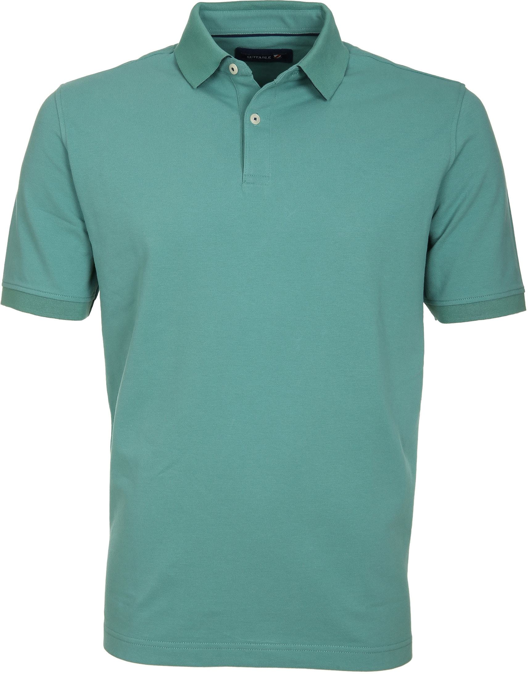 Suitable Polo Basic Groen foto 0