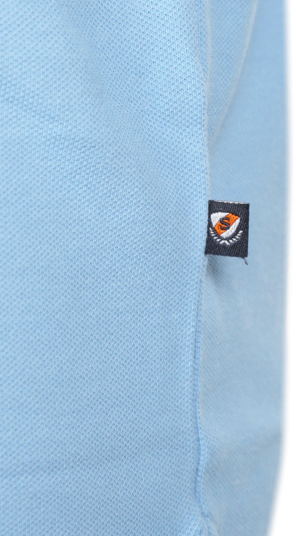 Suitable Polo Basic Lichtblauw foto 3
