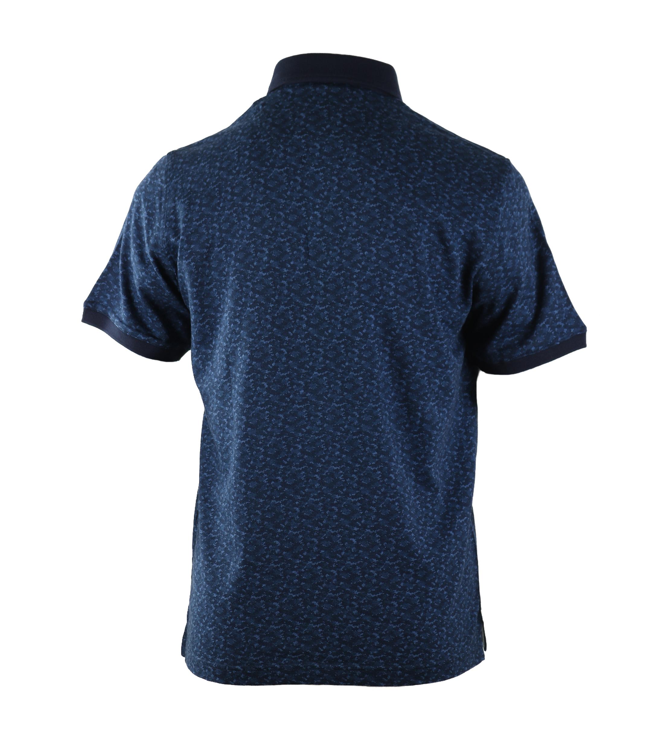 Suitable Polo Blauwe Print foto 1
