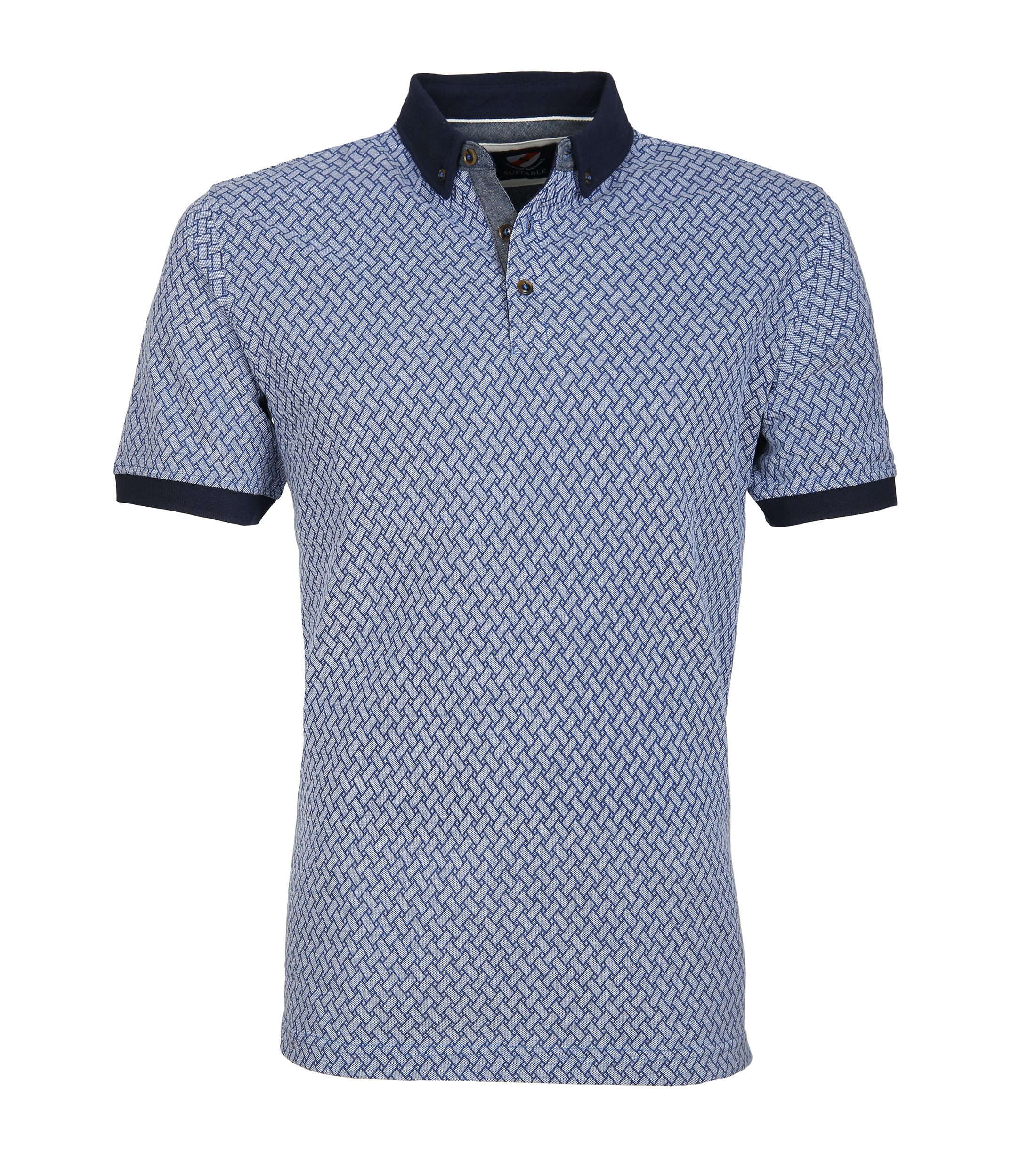 Suitable Polo Bric Blauw foto 0