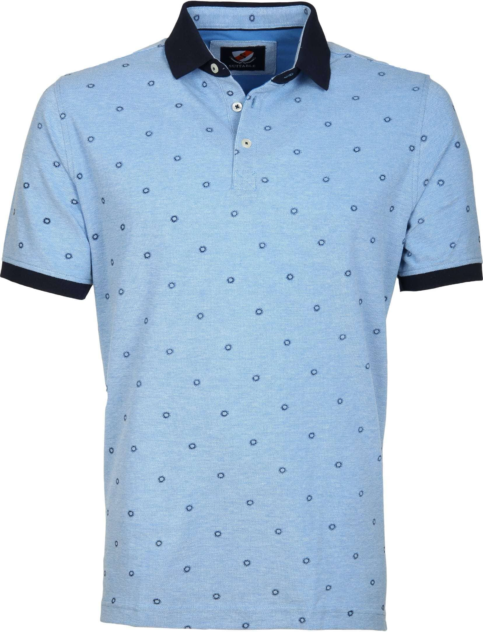 Suitable Polo Circle Blauw foto 0