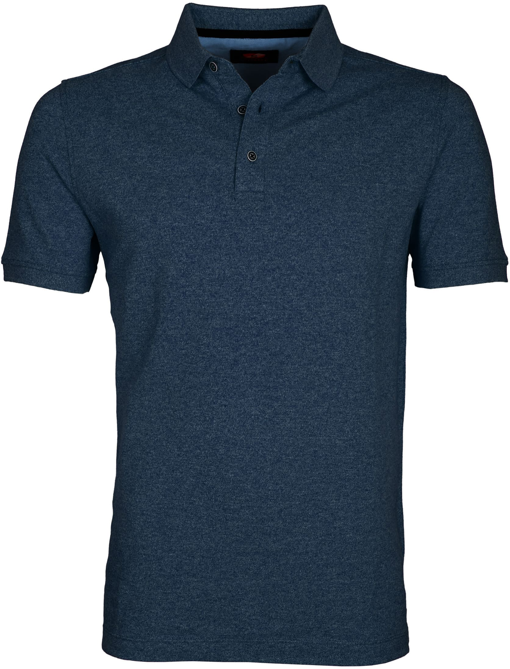 Suitable Polo Jaspe Navy foto 0