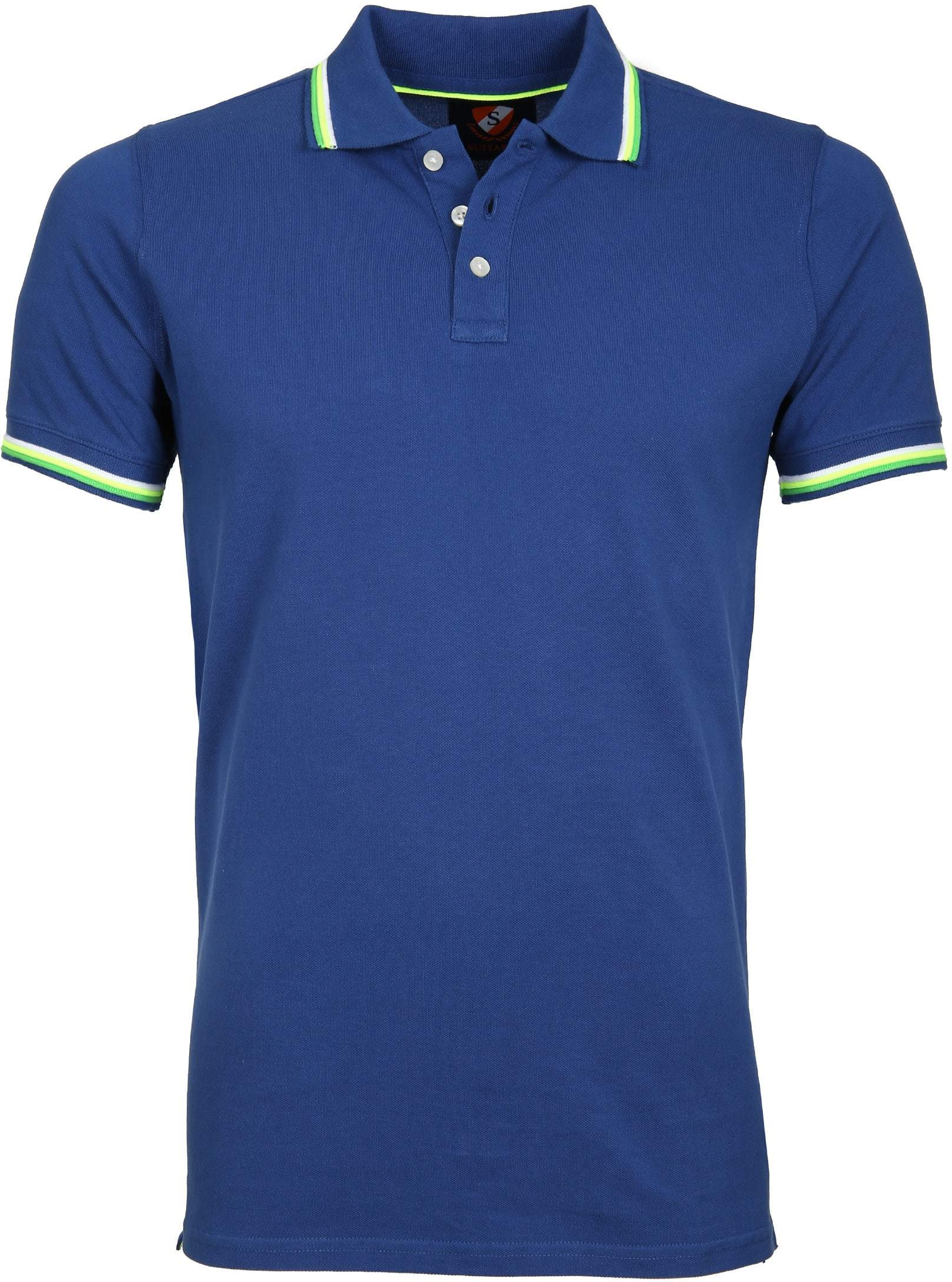 Suitable Polo Neon Blauw foto 0