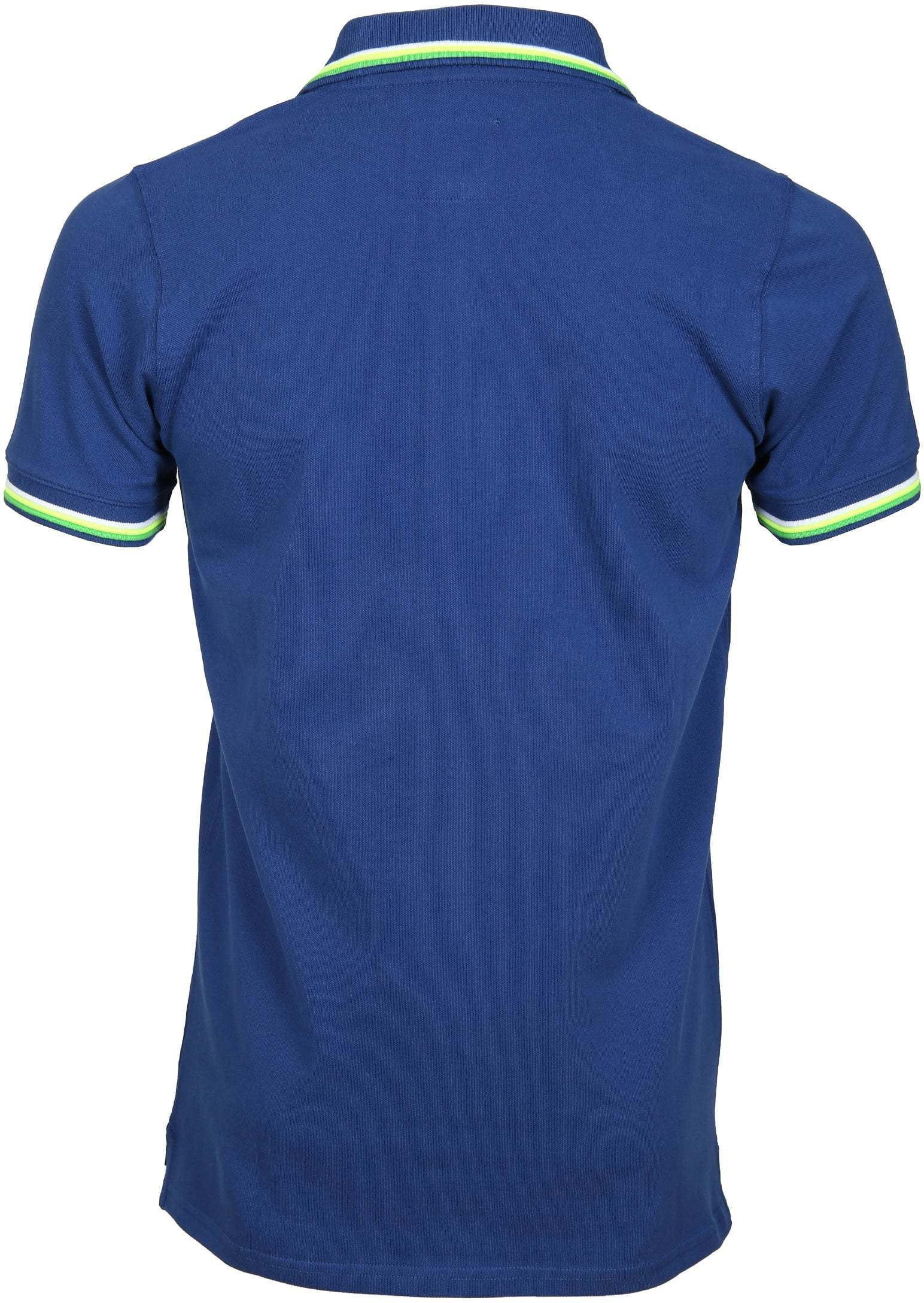 Suitable Polo Neon Blauw foto 2