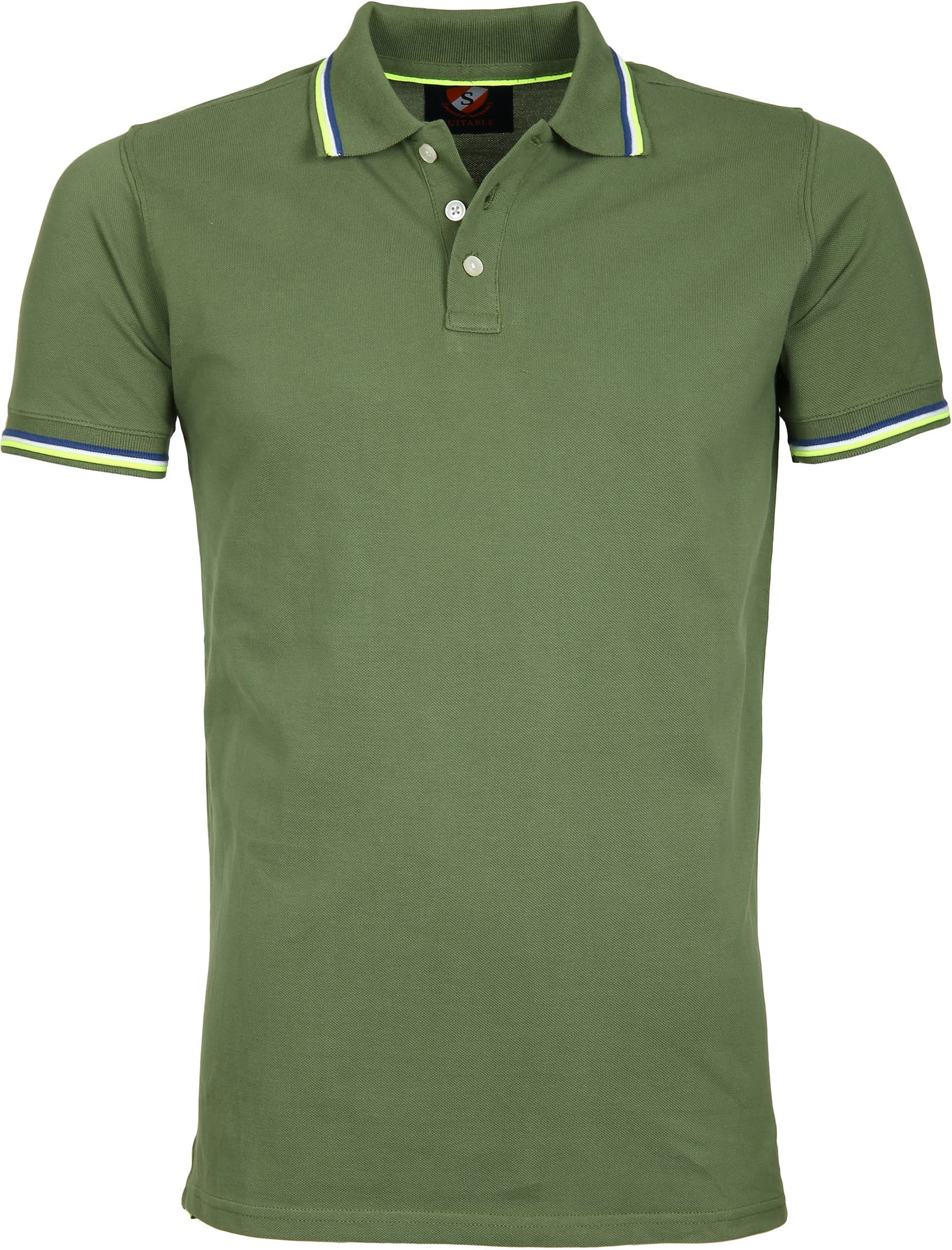 Suitable Polo Neon Groen foto 0