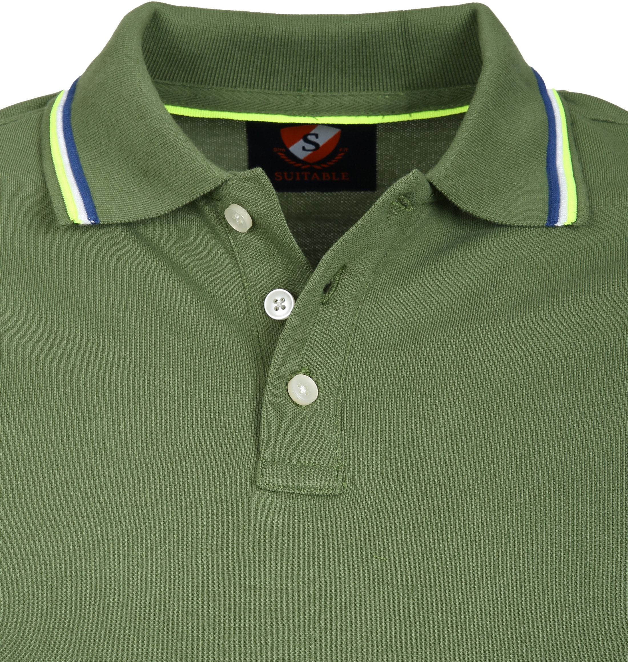 Suitable Polo Neon Groen foto 1
