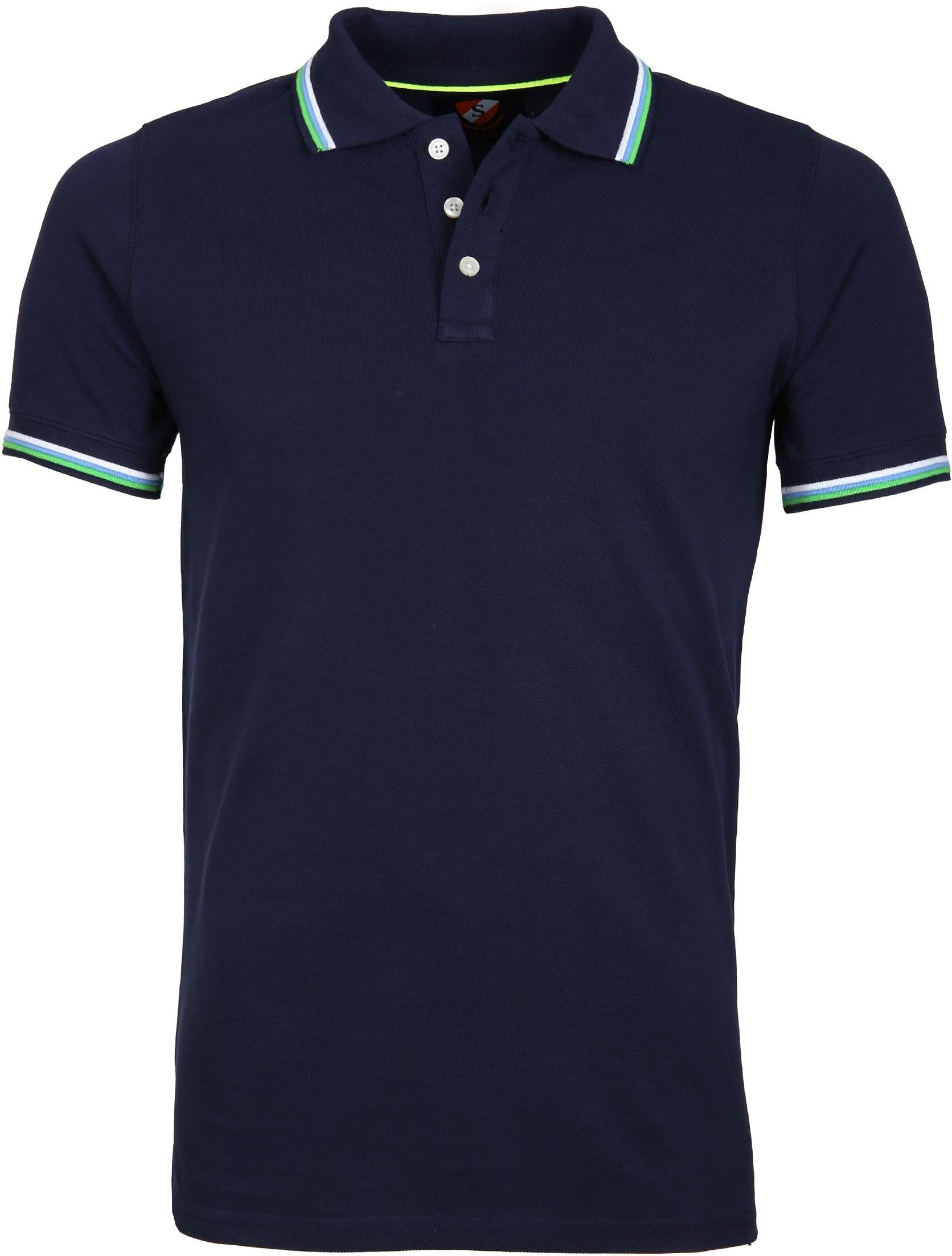 Suitable Polo Neon Navy foto 0
