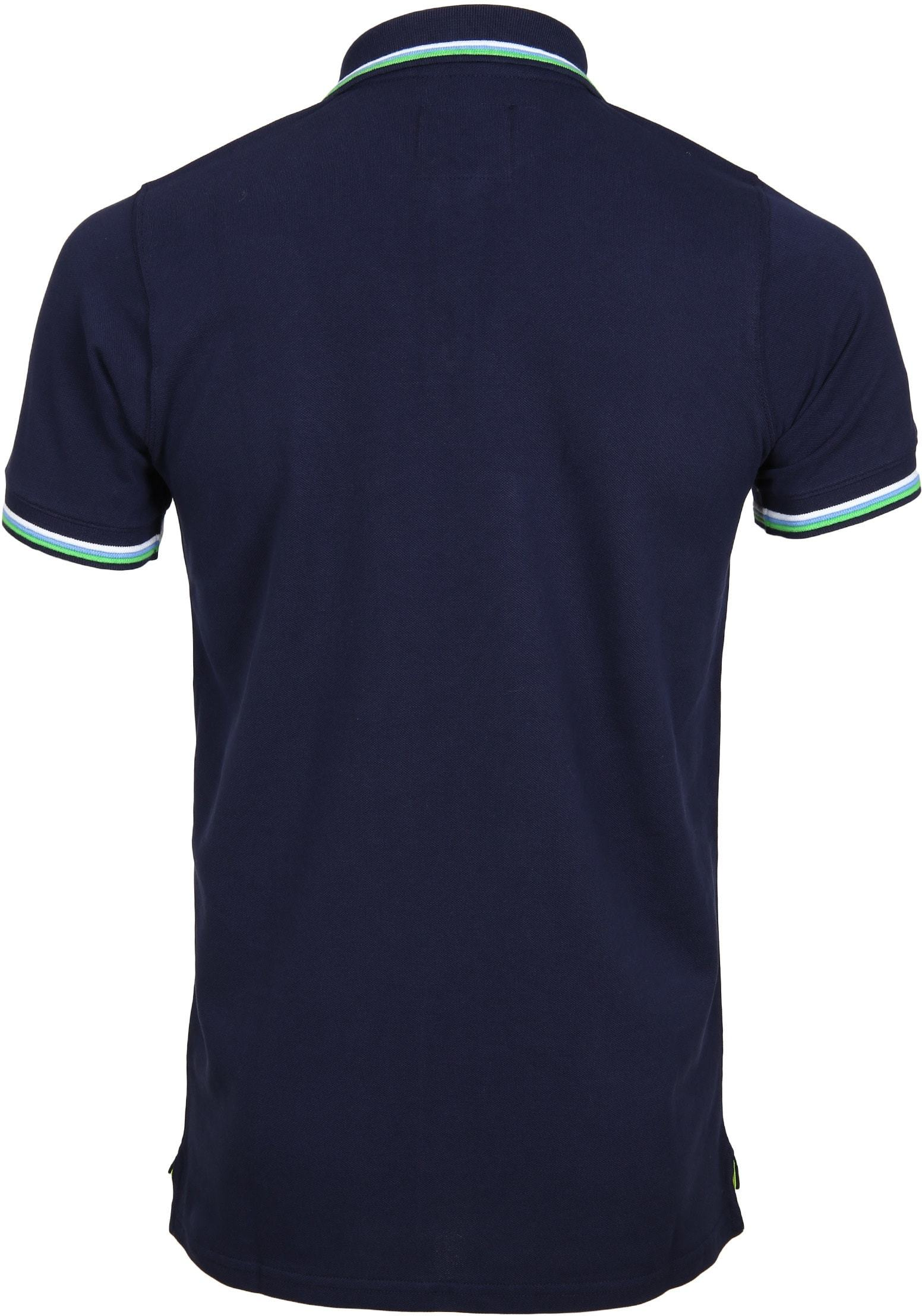 Suitable Polo Neon Navy foto 2