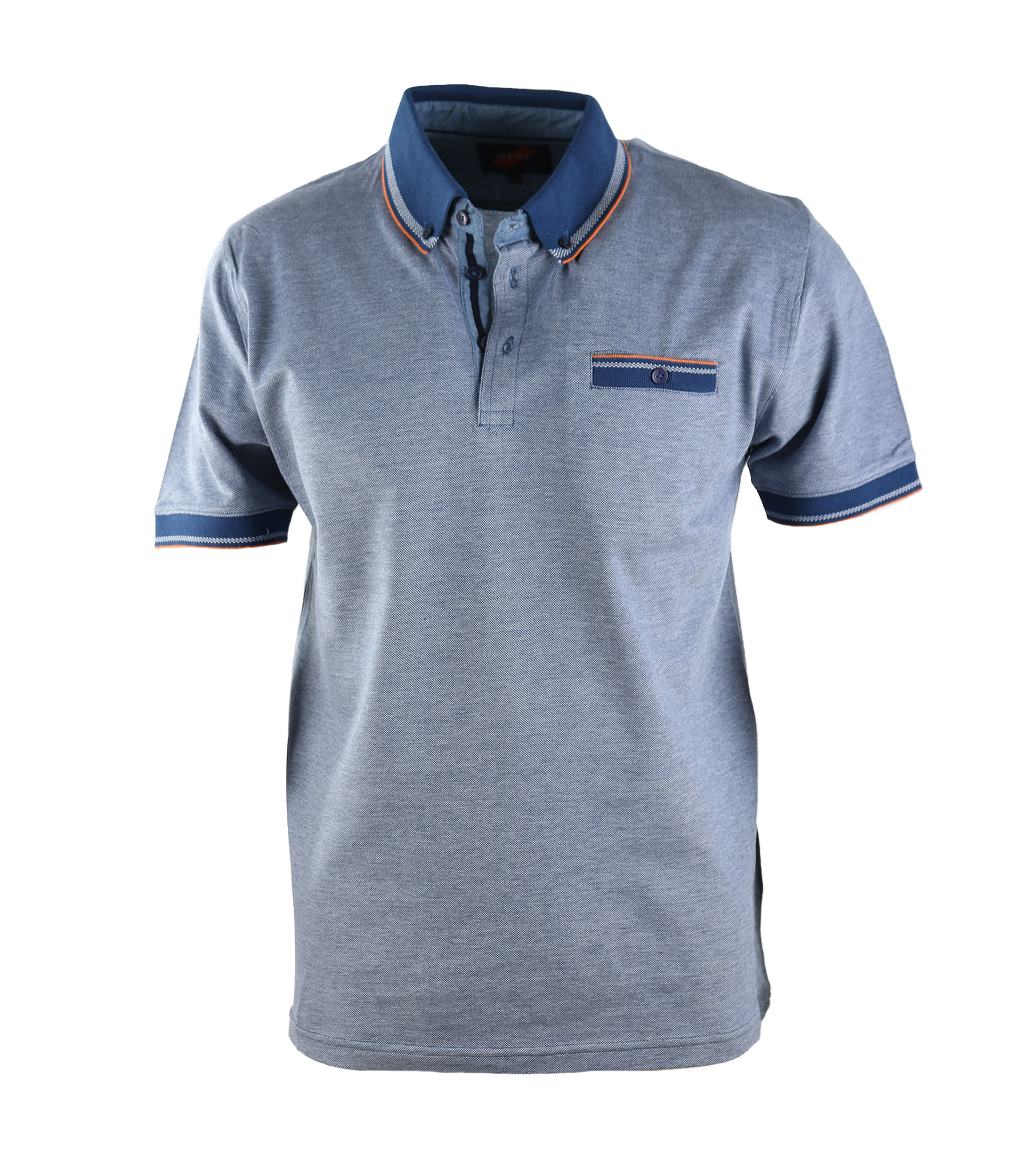Suitable Polo Oxford Navy foto 0