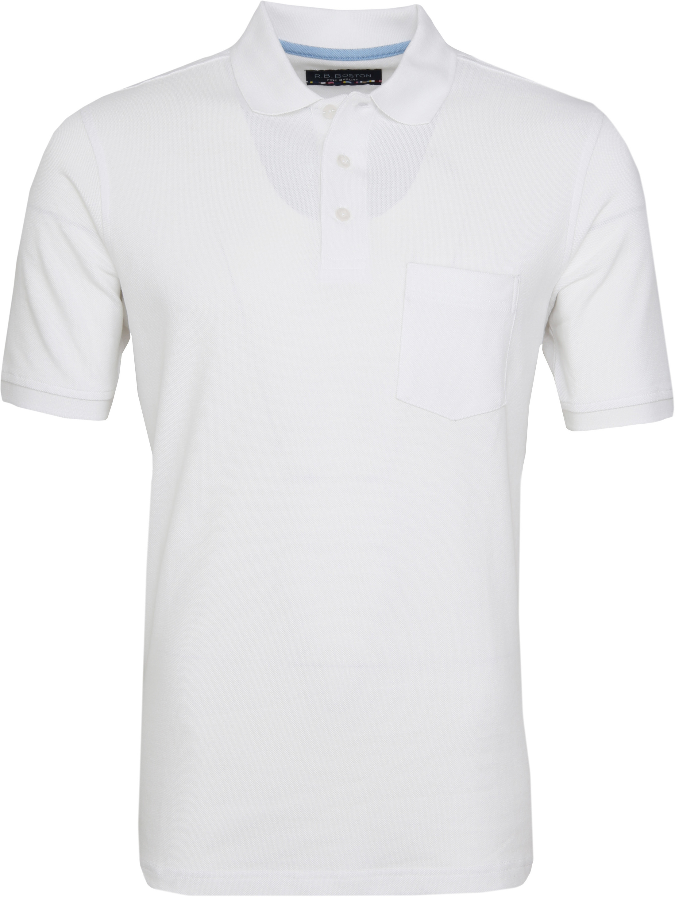 Suitable Polo Shirt Boston White