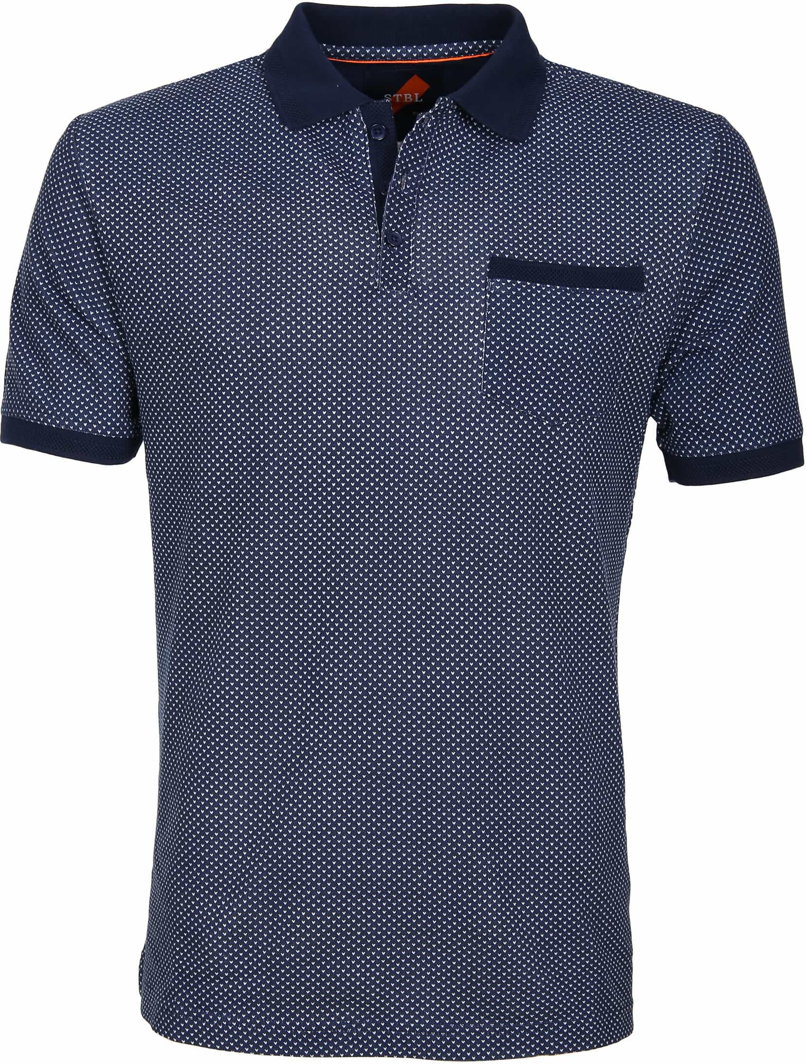 Suitable Polo Typing Navy foto 0