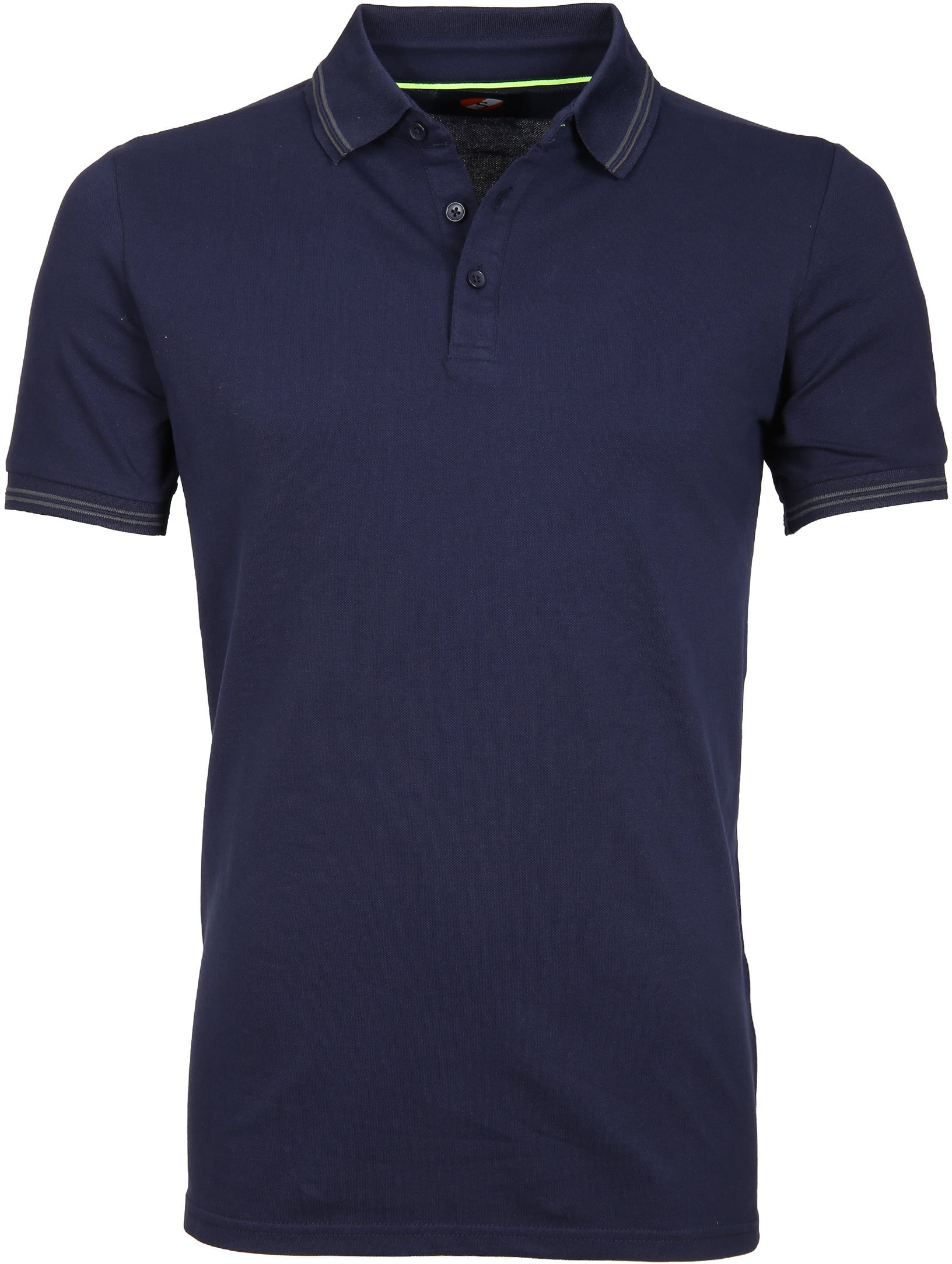 Suitable Polo Typing Stretch Navy foto 0