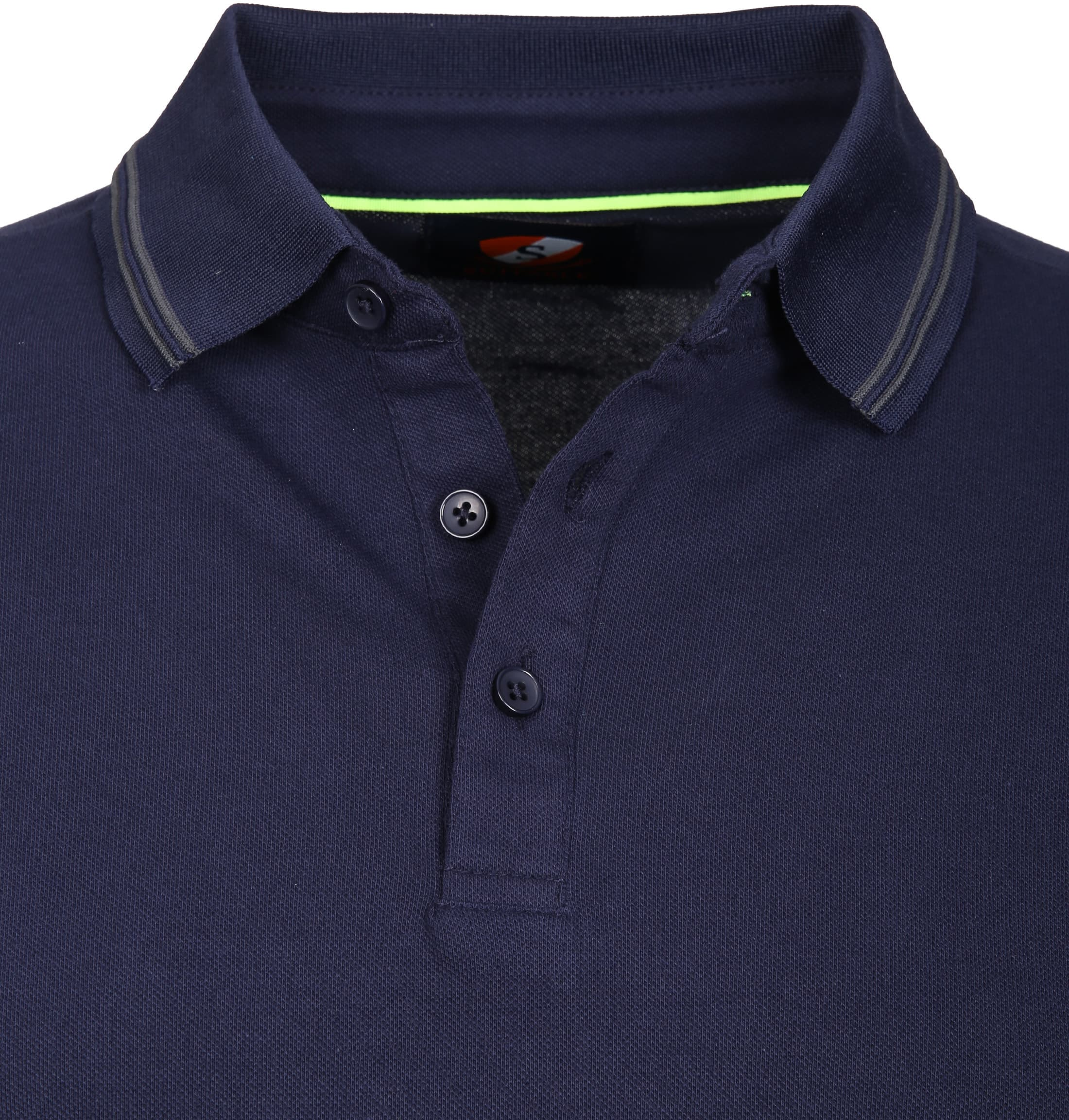 Suitable Polo Typing Stretch Navy foto 1