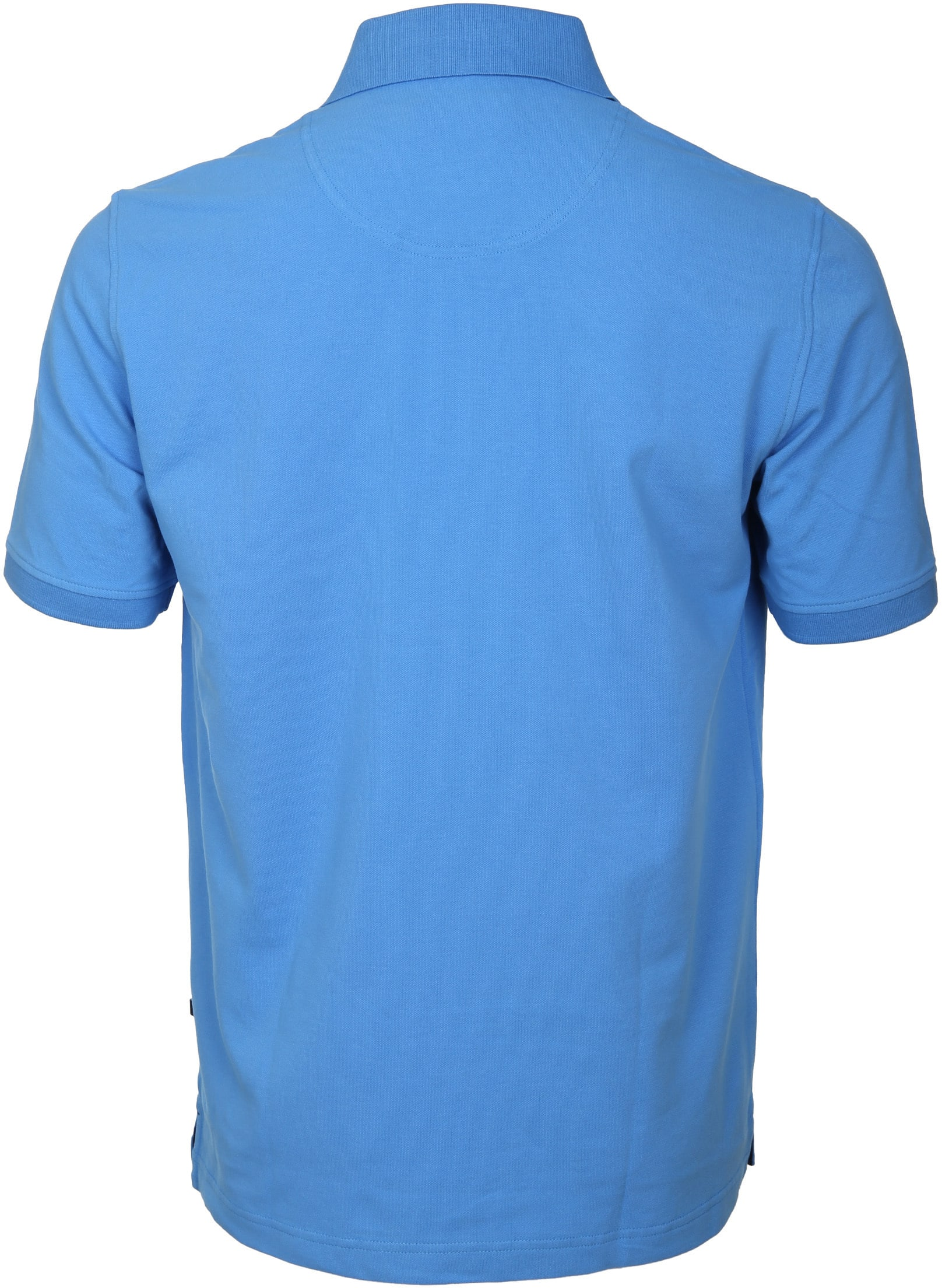 Suitable Poloshirt Basic Blau foto 4