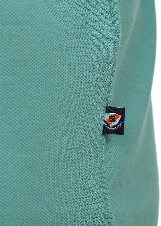 Suitable Poloshirt Basic Grün foto 2