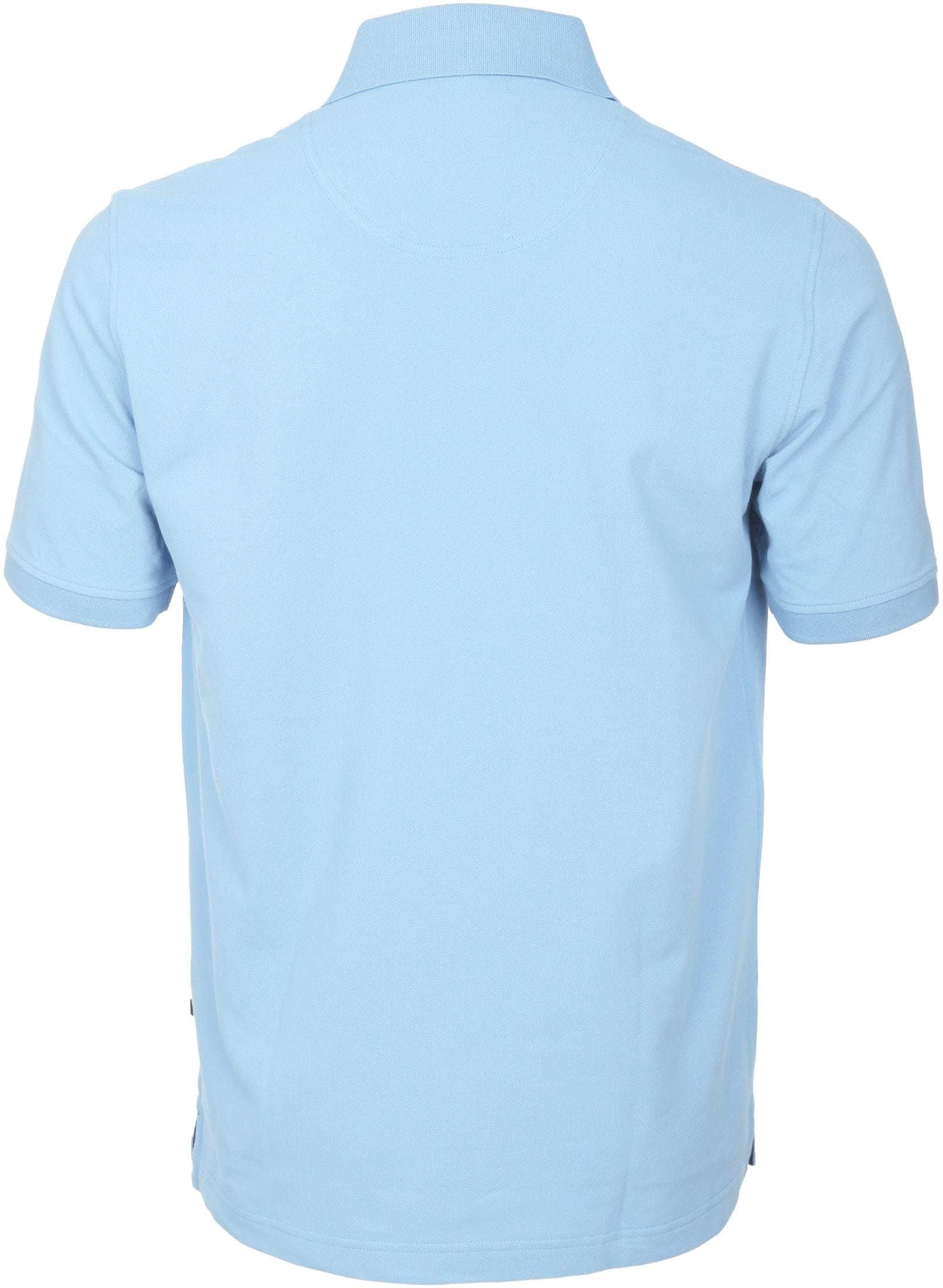 Suitable Poloshirt Basic Hellblau foto 4