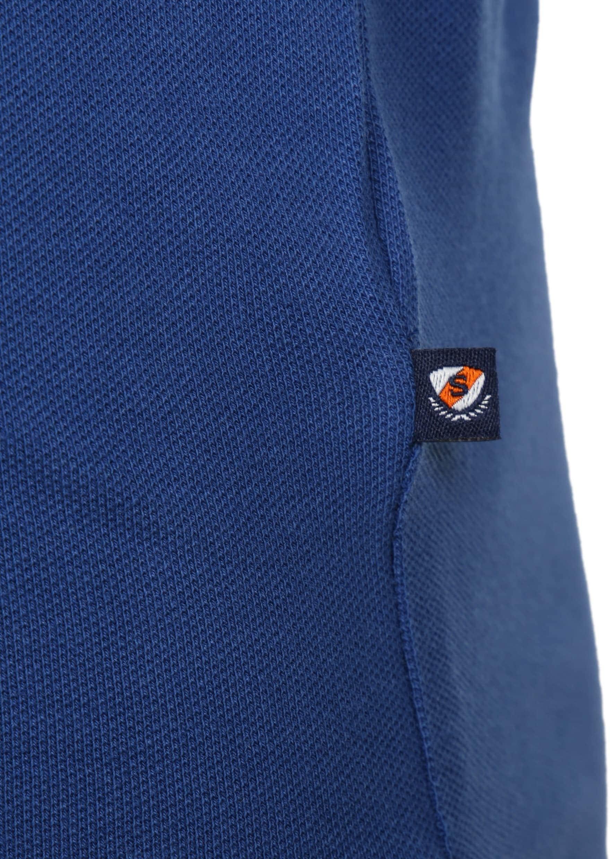 Suitable Poloshirt Basic Royal Blue foto 3