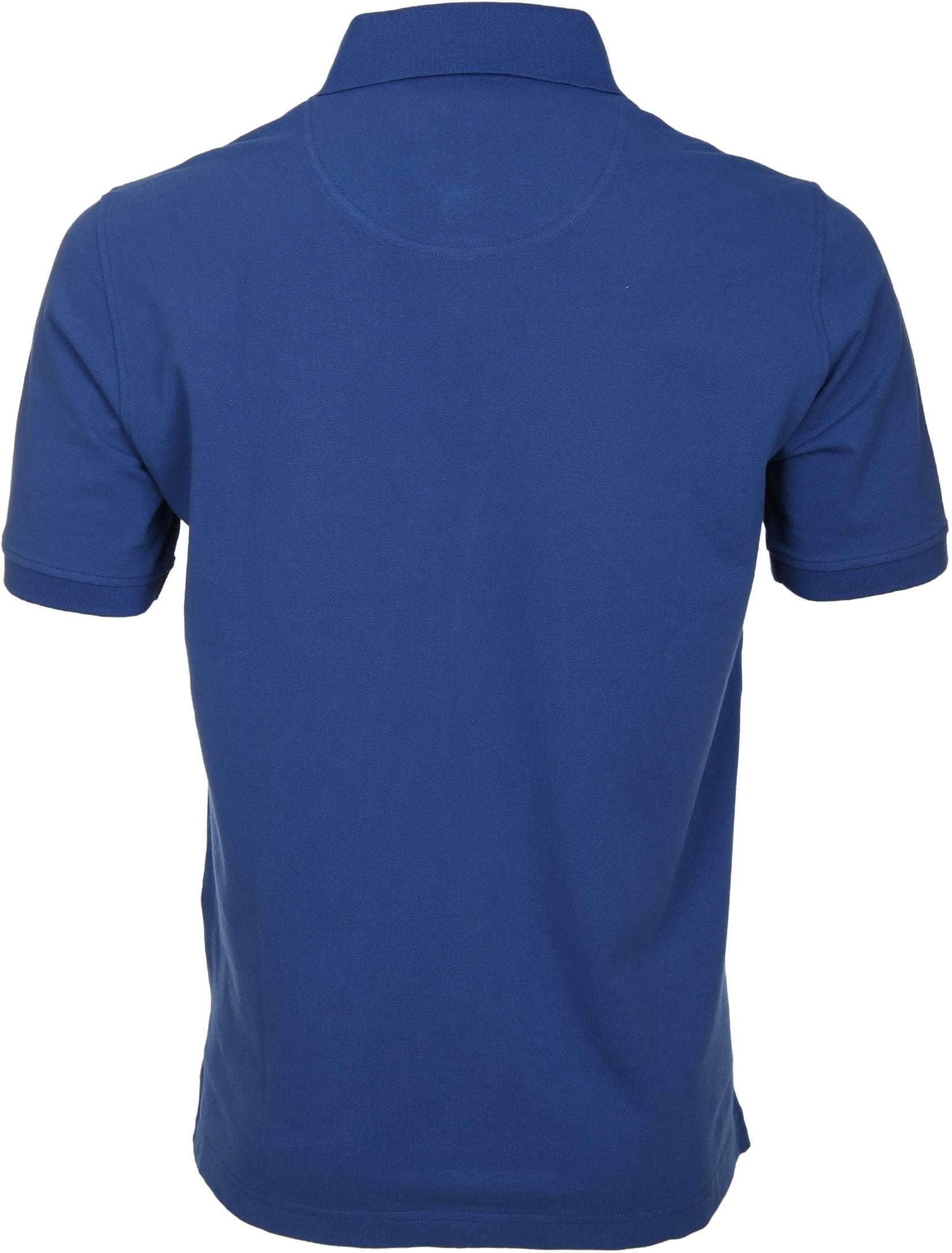Suitable Poloshirt Basic Royal Blue foto 4