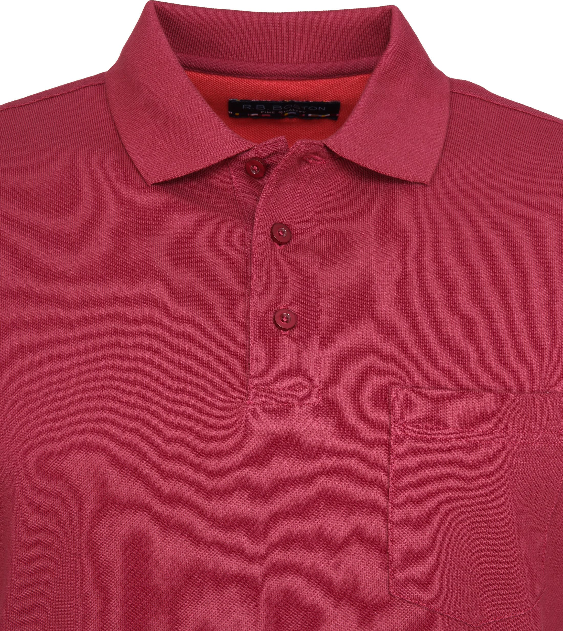 Suitable Poloshirt Boston Bordeaux photo 1