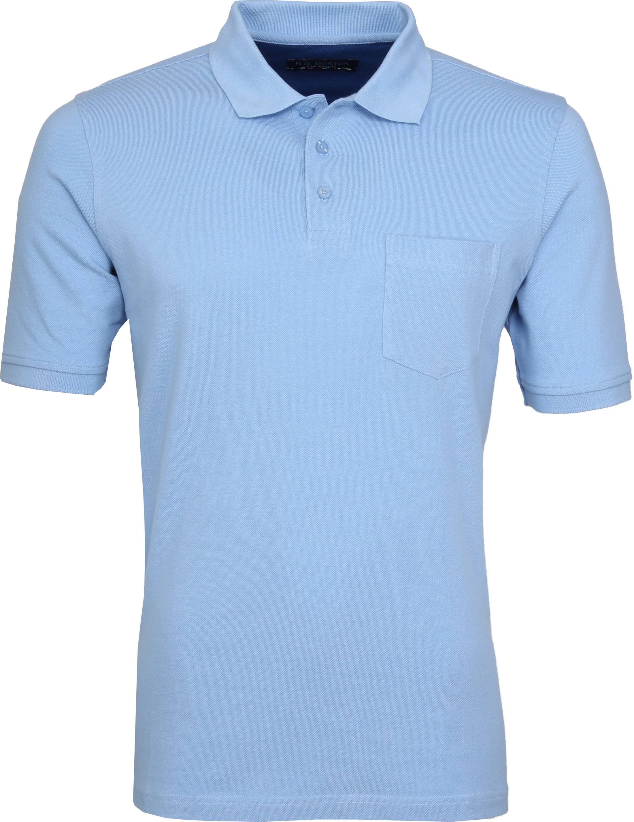 Suitable Poloshirt Boston Hellblau foto 0