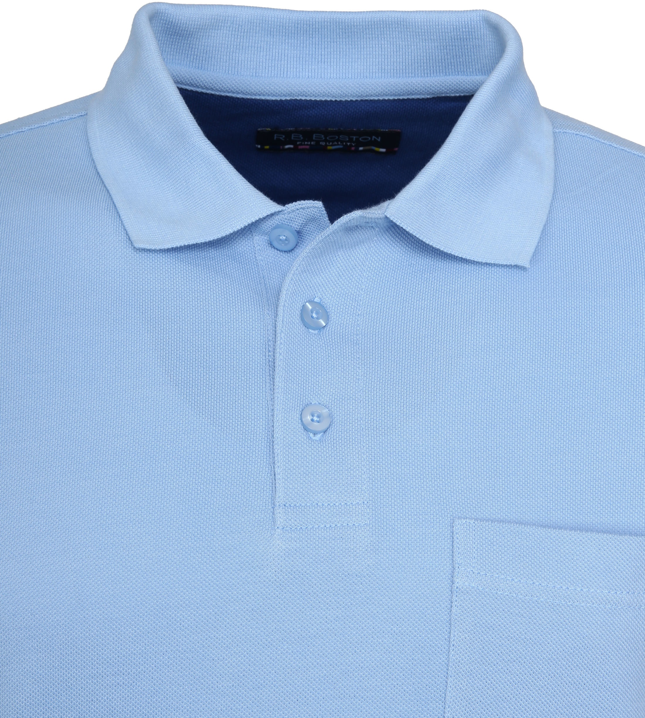 Suitable Poloshirt Boston Light Blue foto 1