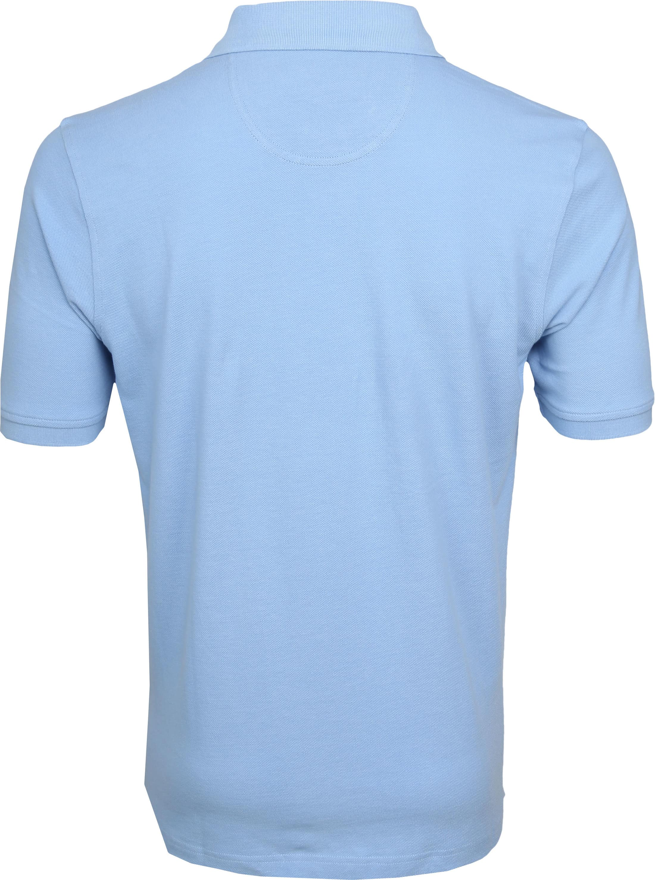 Suitable Poloshirt Boston Light Blue foto 3