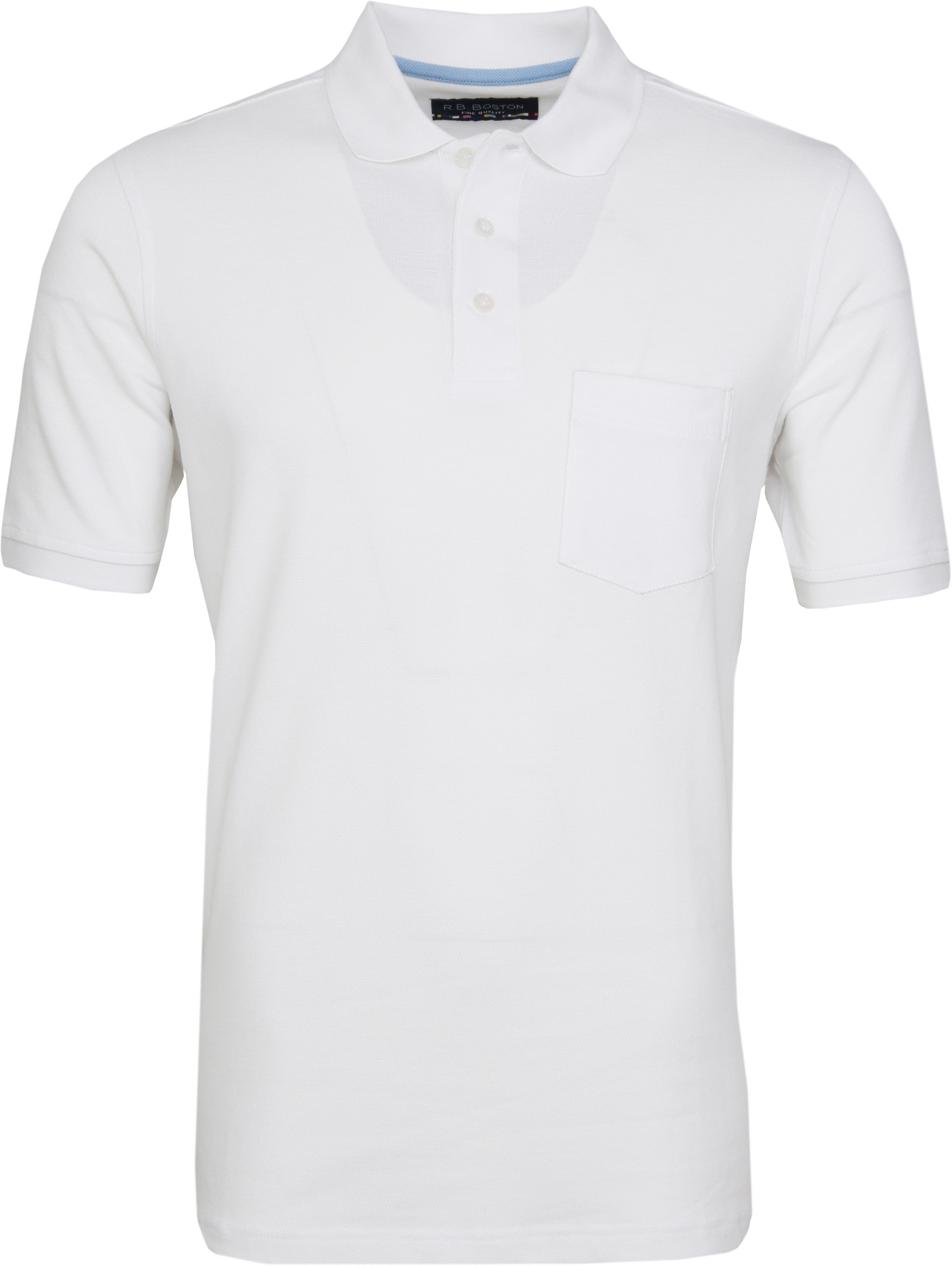 Suitable Poloshirt Boston White photo 0