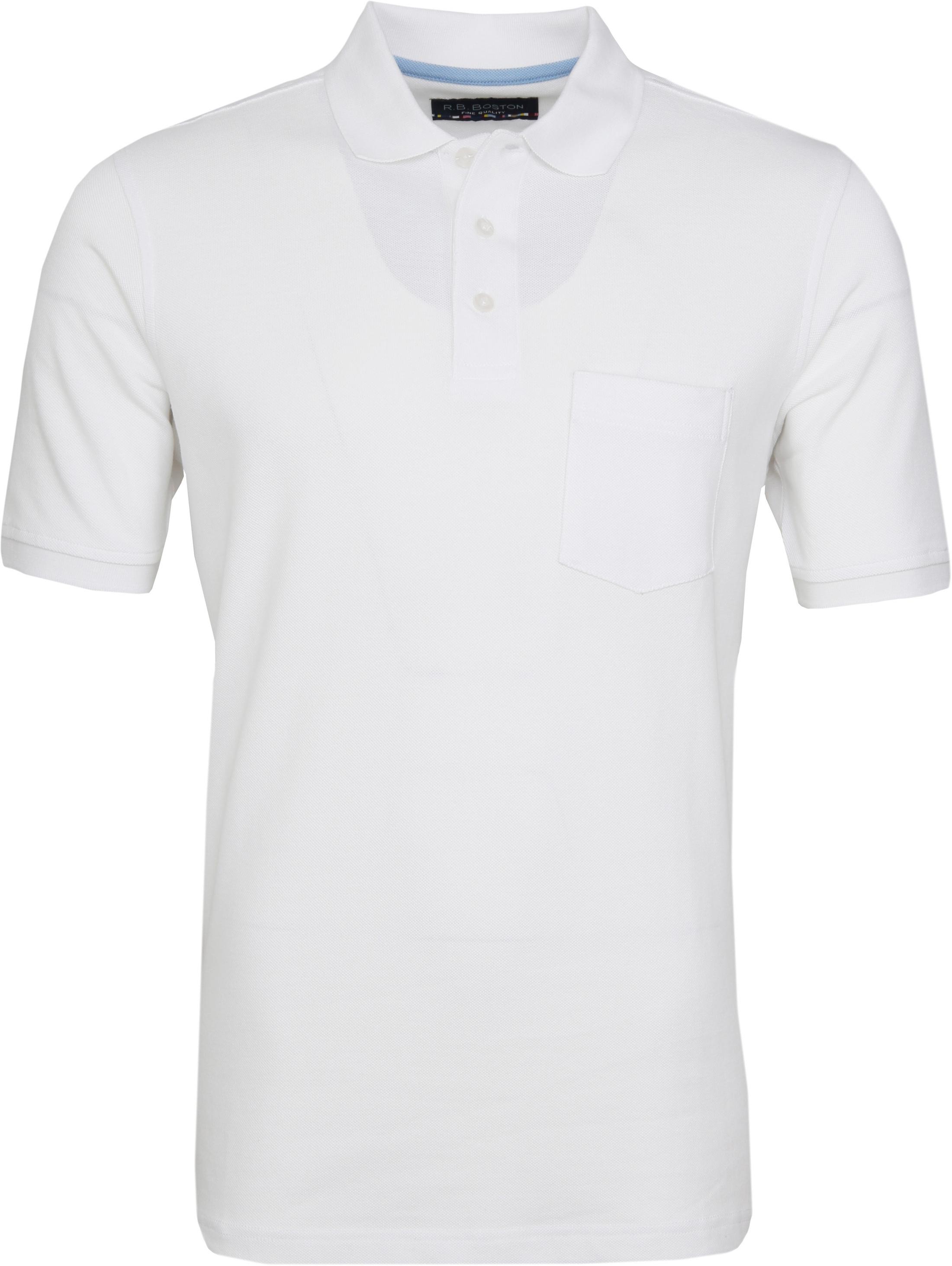 Suitable Poloshirt Boston Wit foto 0