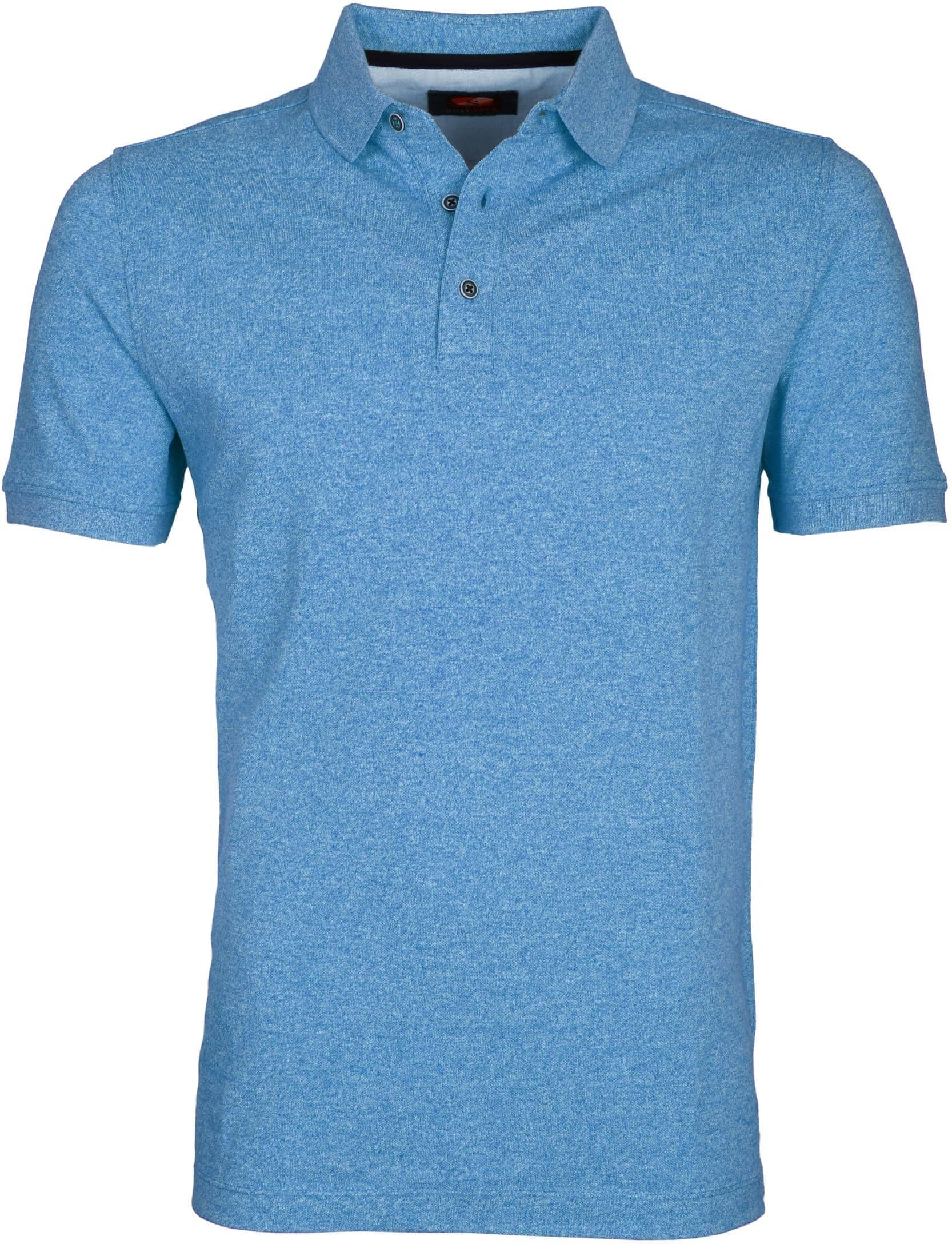 Suitable Poloshirt Jaspe Hellblau foto 0