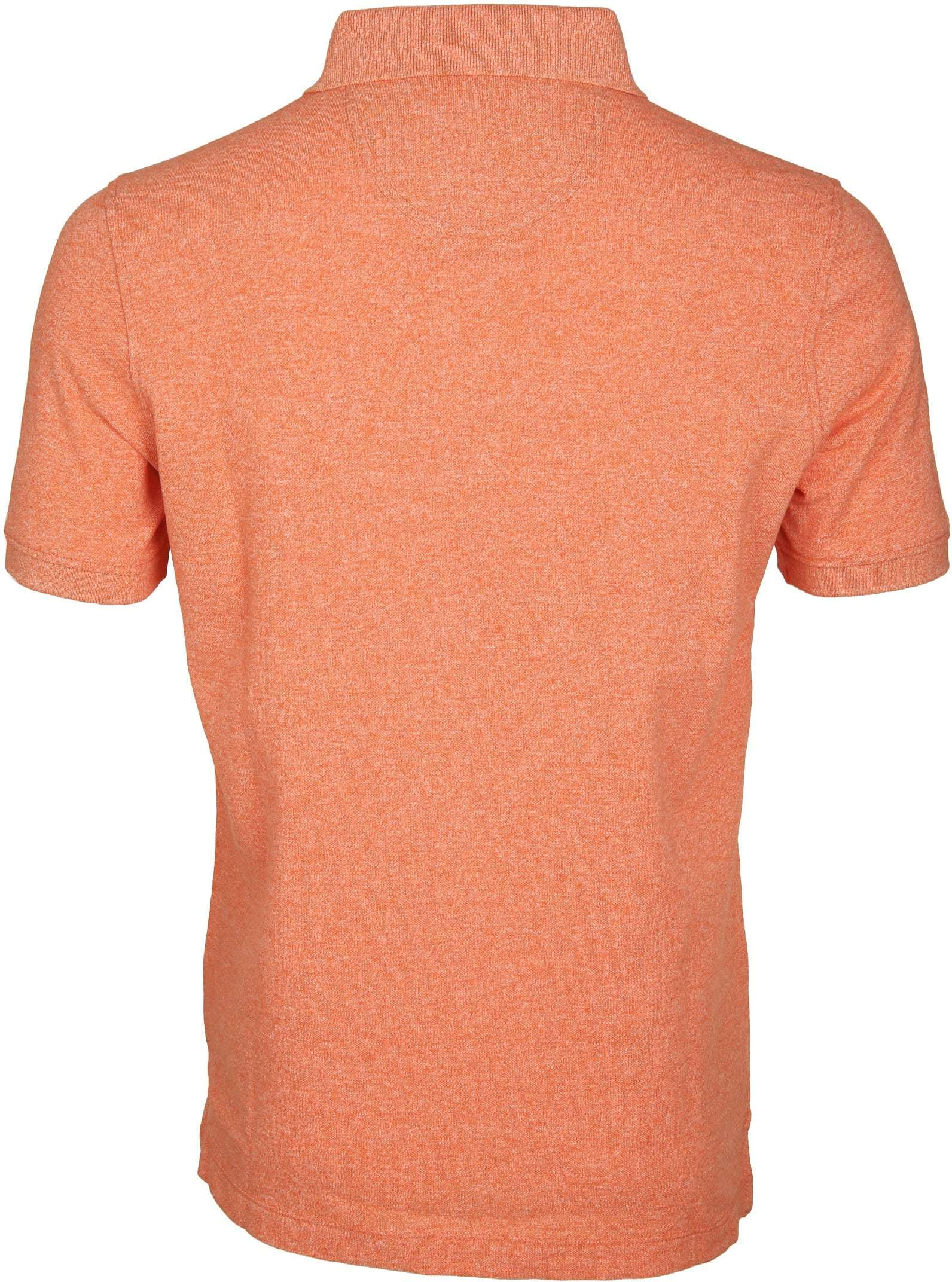 Suitable Poloshirt Jaspe Orange foto 3