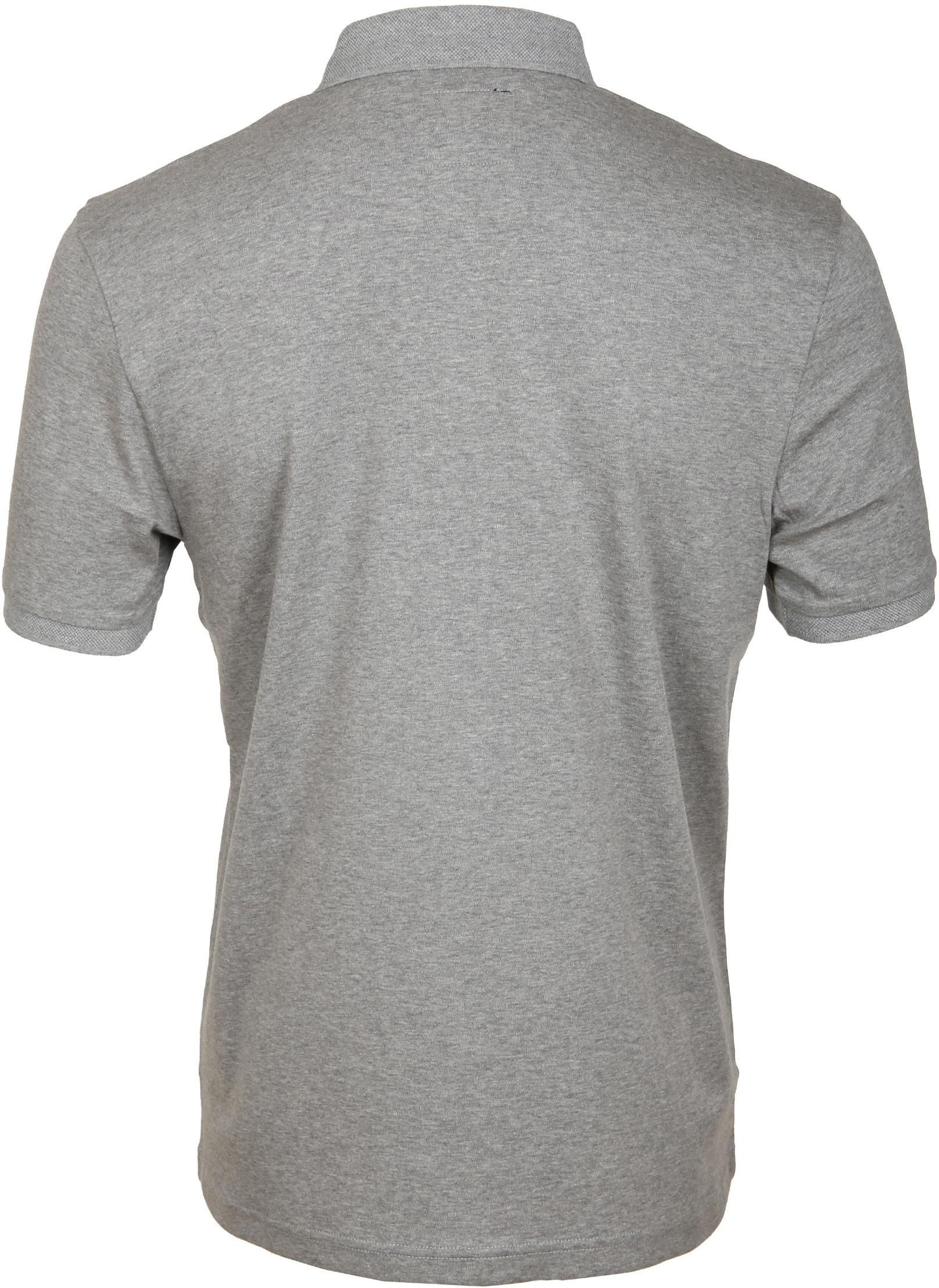 Suitable Poloshirt Liquid Grau foto 2