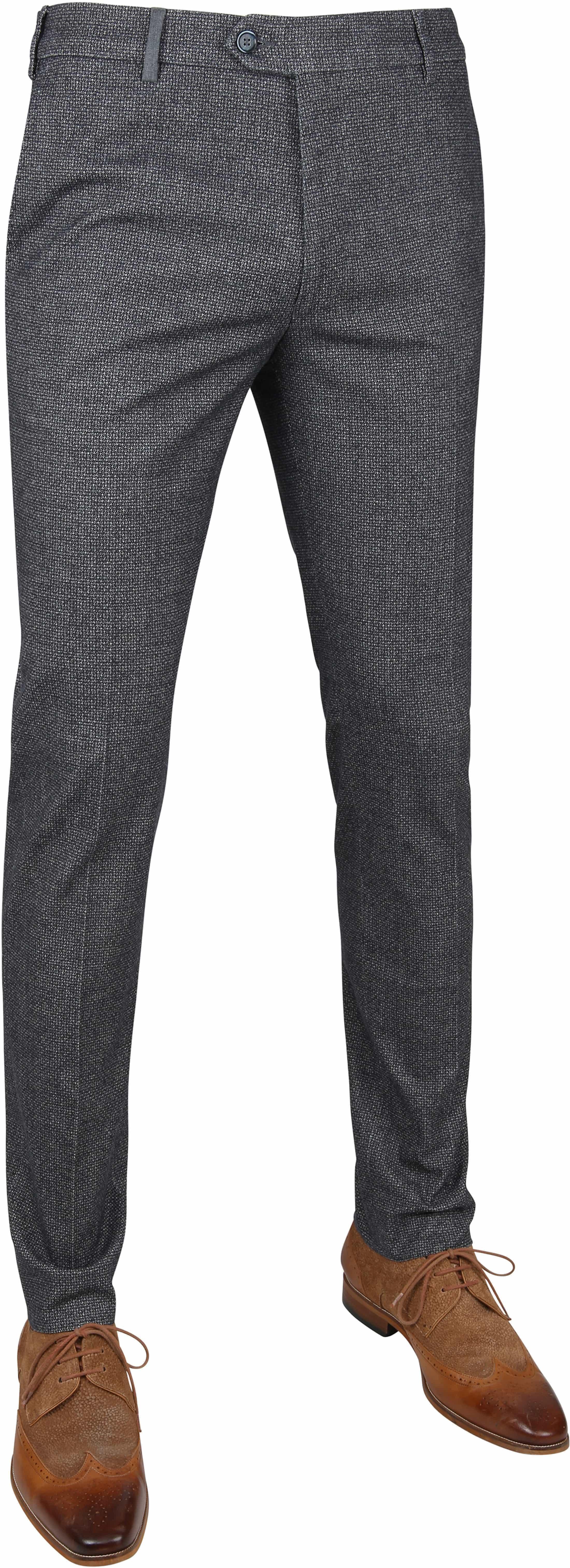 Suitable Premium Pantalon Antraciet foto 0